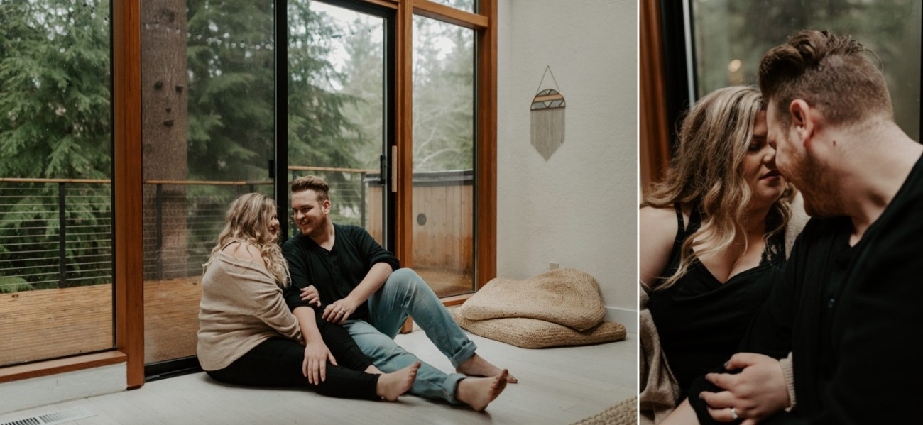 The Woodlands House Sandy Oregon In Home Session Portland Wedding Photographer Portland Elopement Photographer Anais Possamai Photography 020