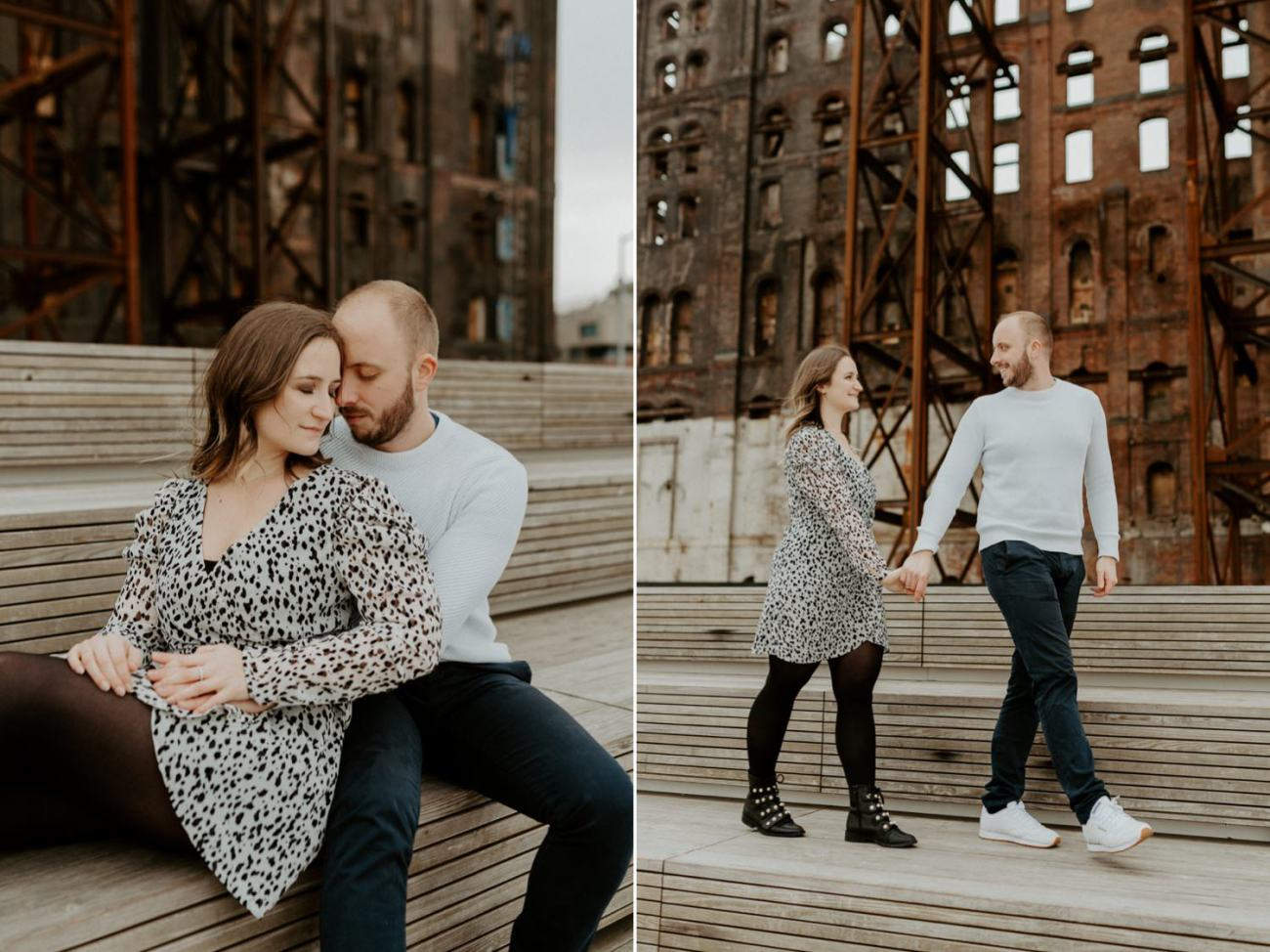 Williamsburg Brooklyn Couple Session Brooklyn Bridge Couple Photos Anais Possamai Photography 16