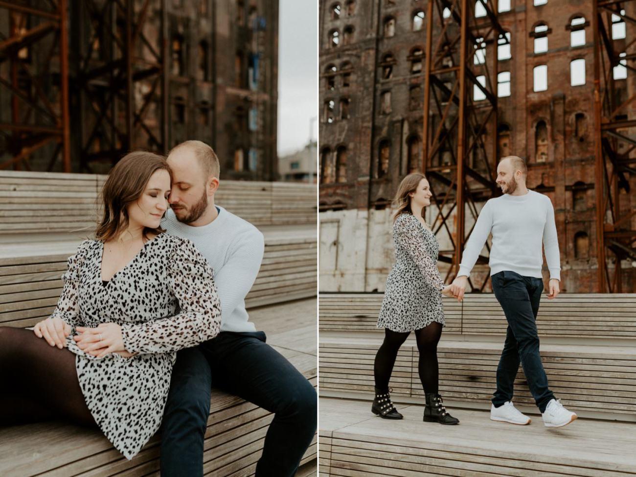 Williamsburg Brooklyn Couple Session Brooklyn Bridge Couple Photos Anais Possamai Photography 16