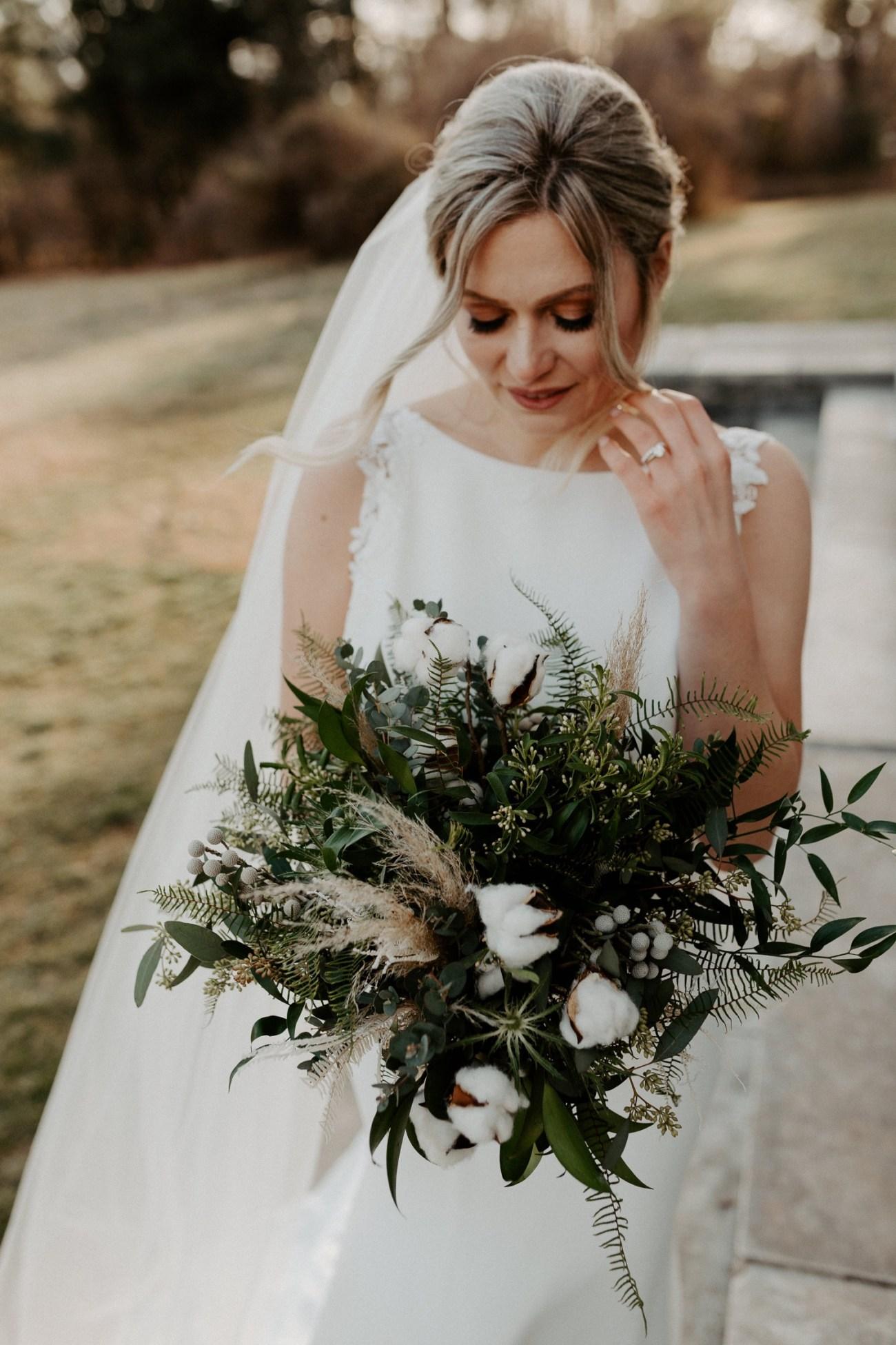 Winter Wedding Bouquet Inspiration Made By Viburnum Designs