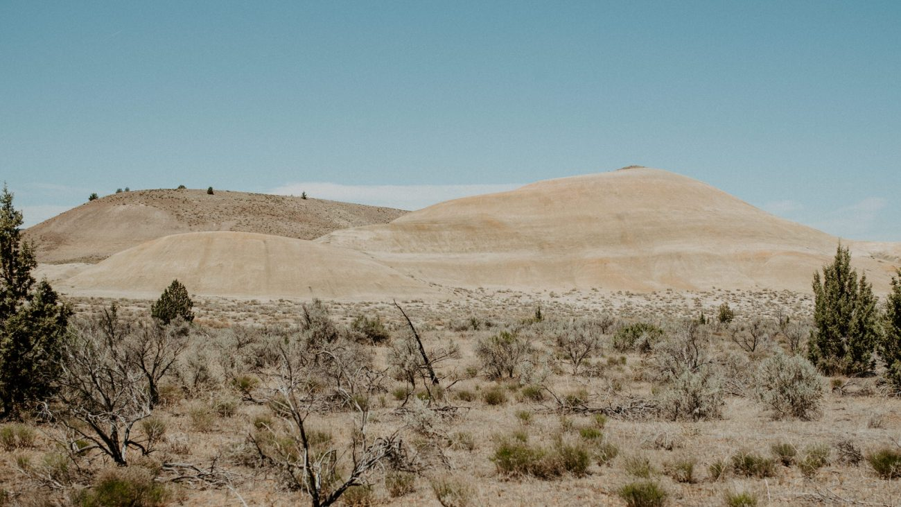 Painted Hills John Dy Fossil Beds National Monument Best Elopement Locations In Oregon Anais Possamai Photography 3