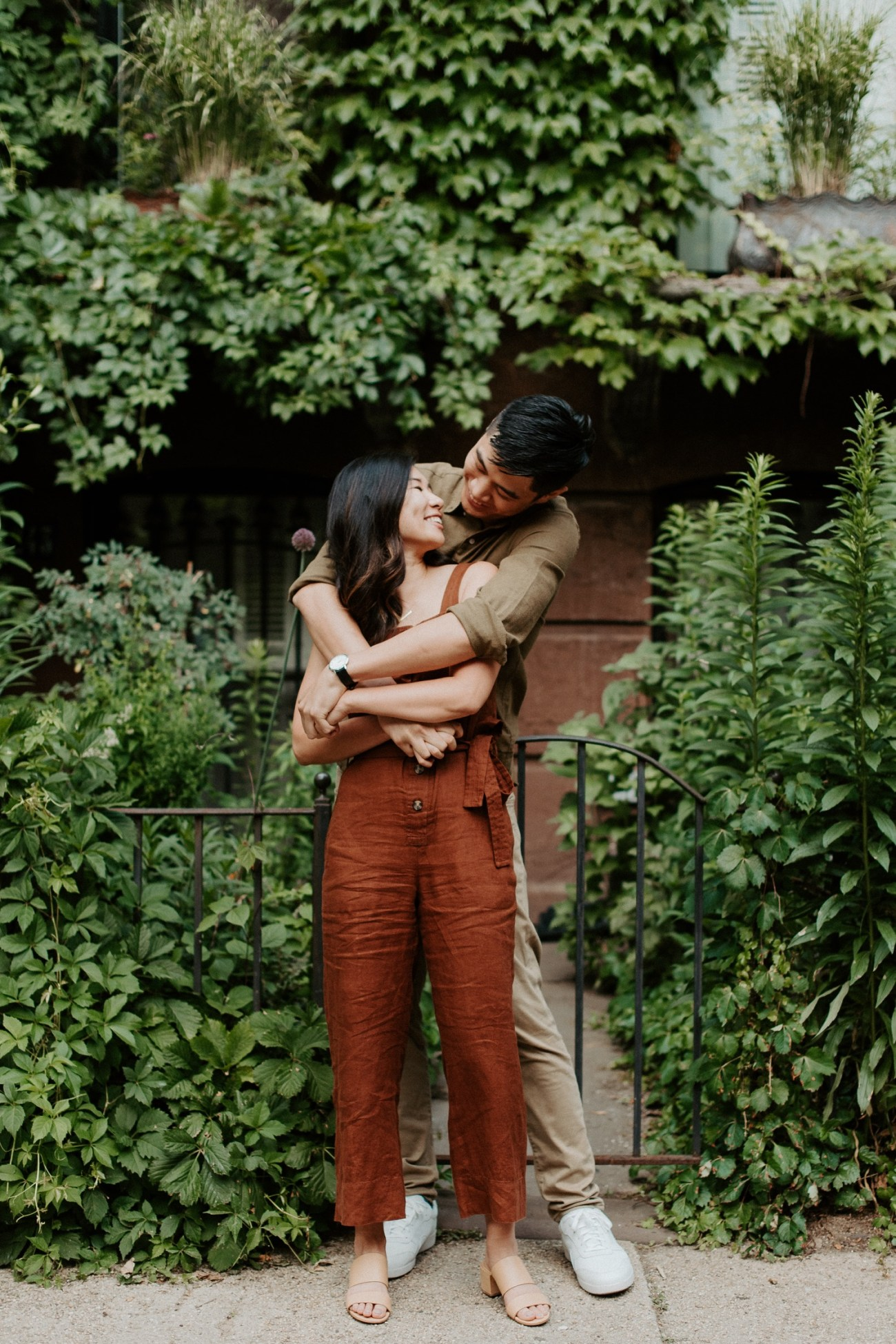 Fort Green Brooklyn Engagement Session