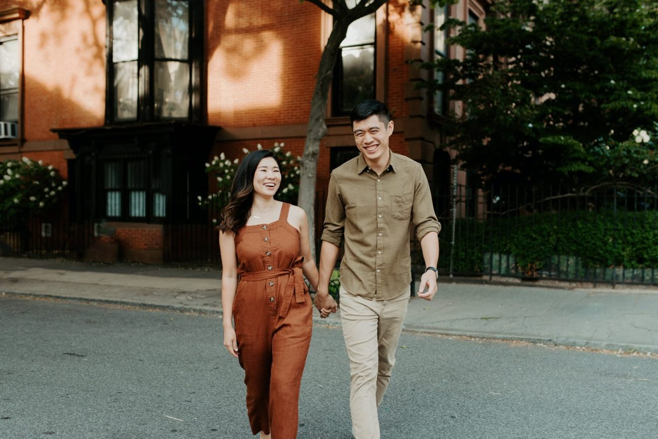 Fort Greene Brooklyn Engagement Session Brooklyn Wedding Photographer New York Wedding Photographer Anais Possamai Photography 002