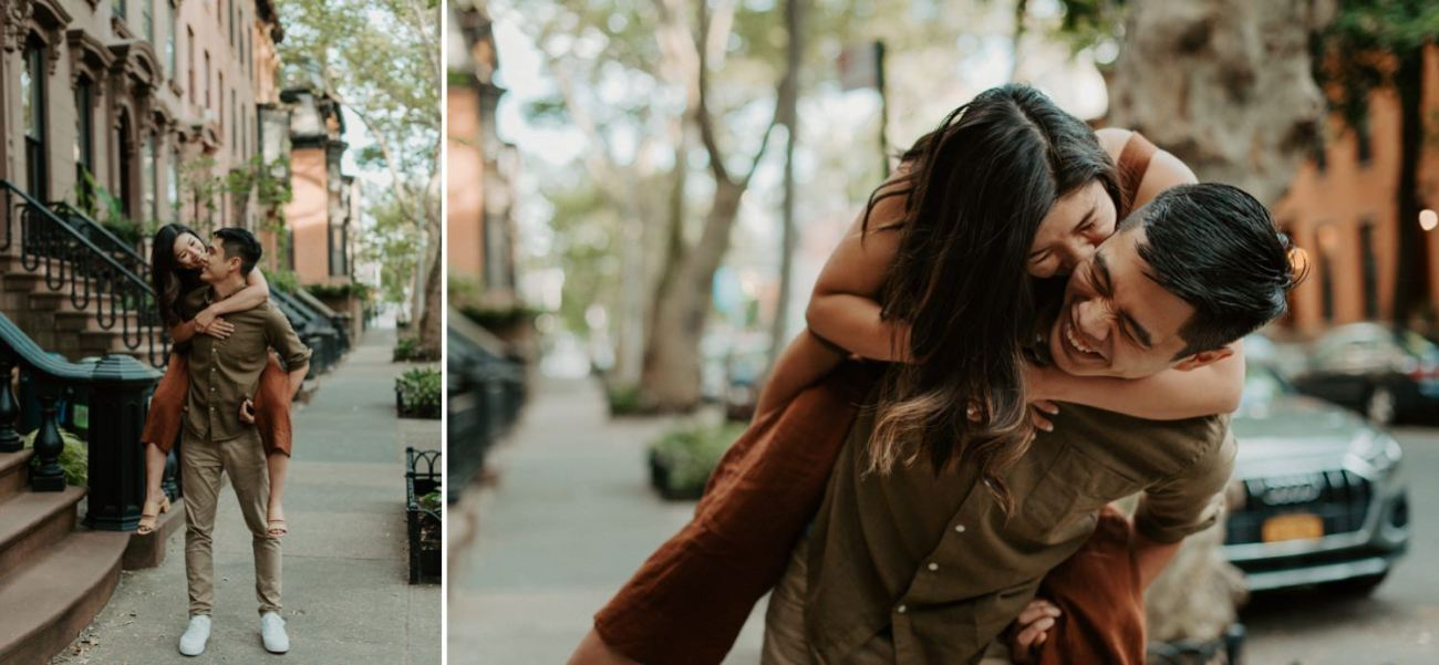 Fort Greene Brooklyn Engagement Session Brooklyn Wedding Photographer New York Wedding Photographer Anais Possamai Photography 009