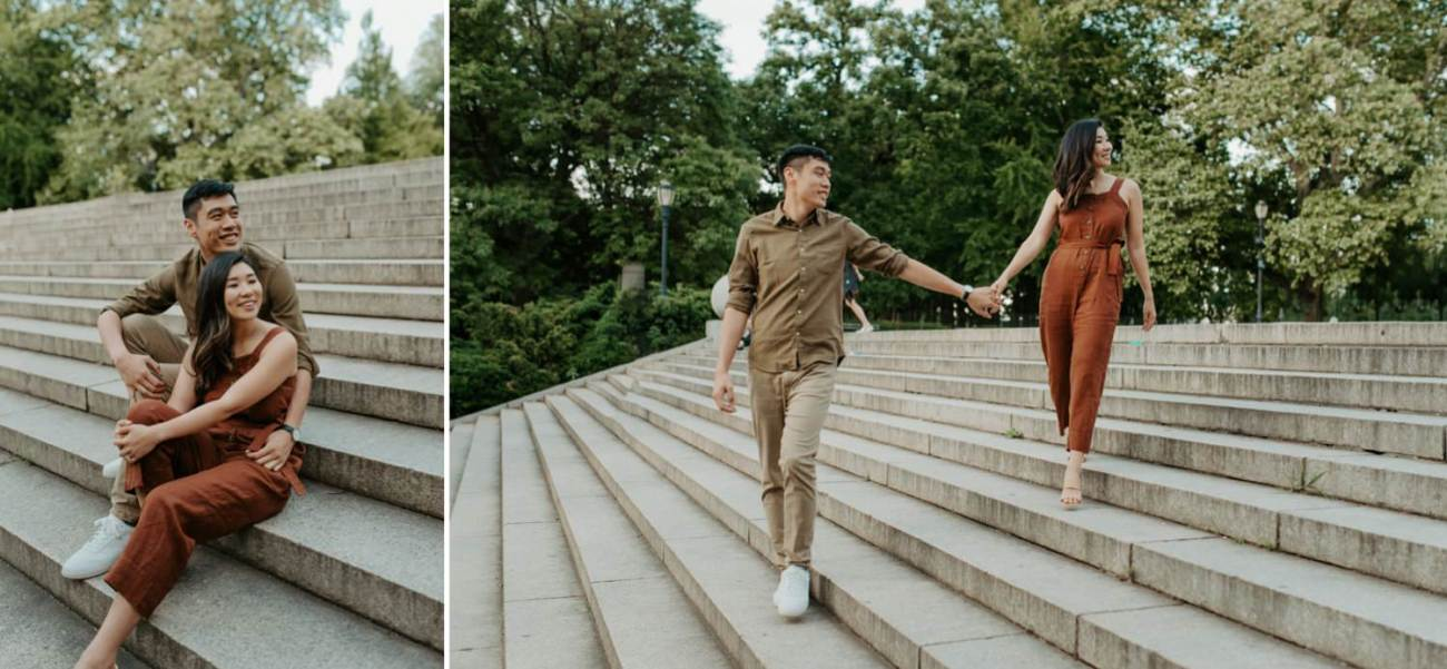Fort Greene Brooklyn Engagement Session Brooklyn Wedding Photographer New York Wedding Photographer Anais Possamai Photography 017
