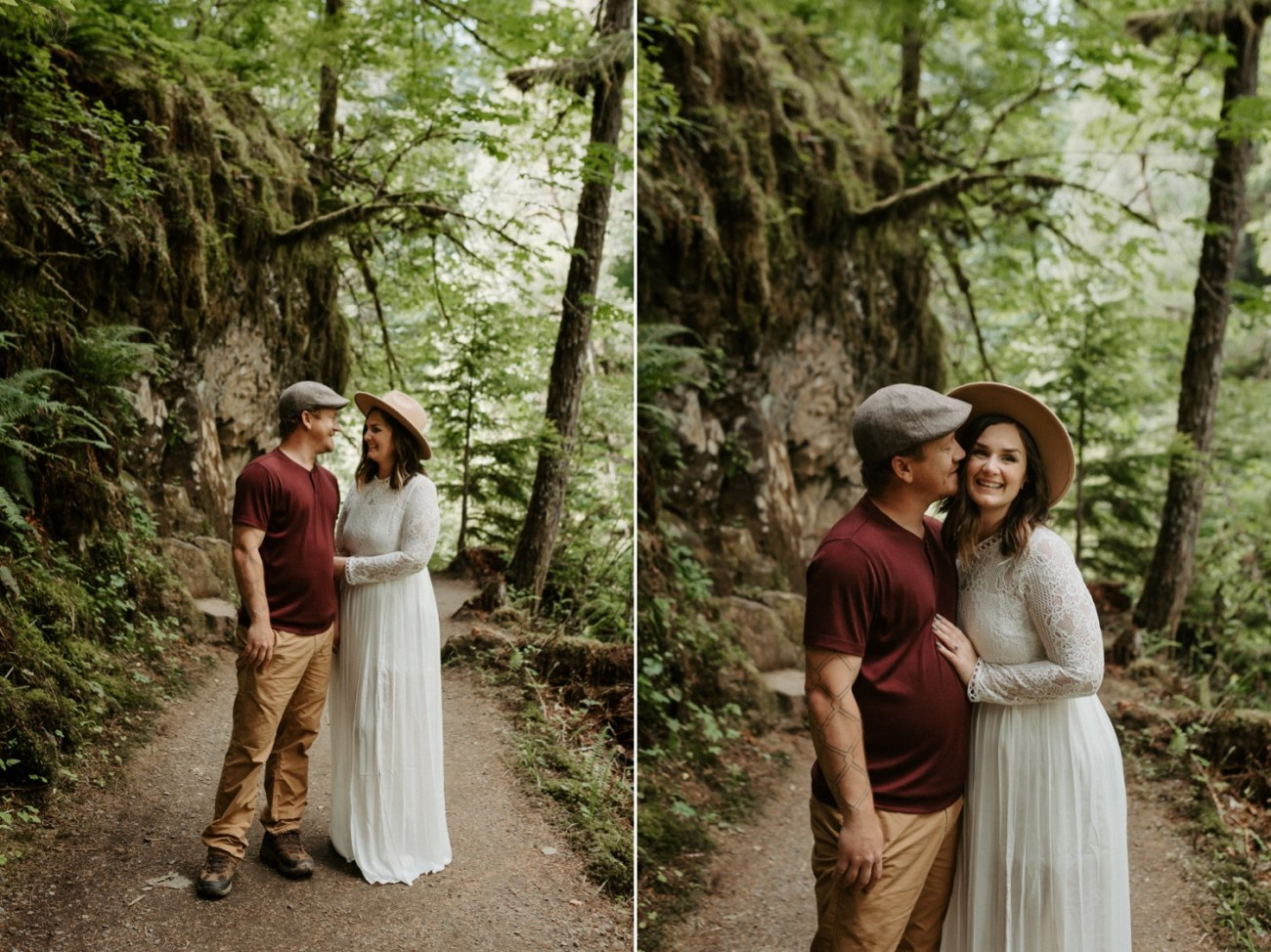 Silver Falls State Park Engagement Session North Falls Engagement Photos Portland Wedding Photographer Oregon Elopement Photographer Anais Possamai Photography 003