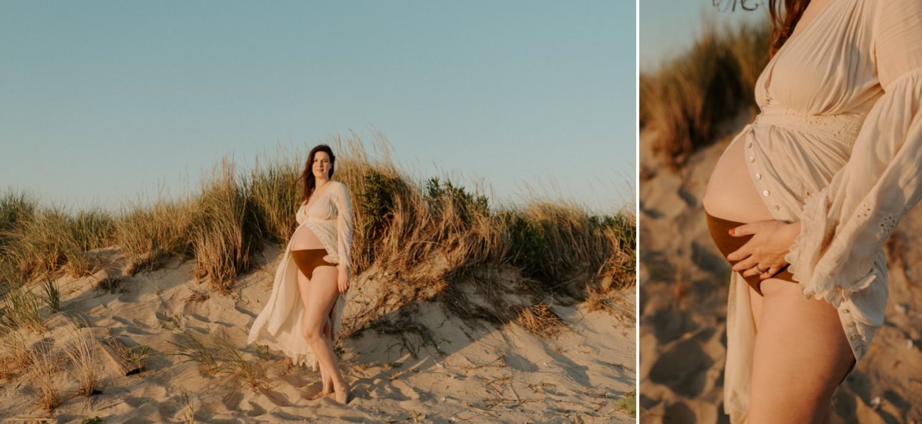 Sandy Hook Maternity Session Oregon Coast Couple Session Oregon Wedding Photographer Bend Wedding Photographer Anais Possamai Photography 019