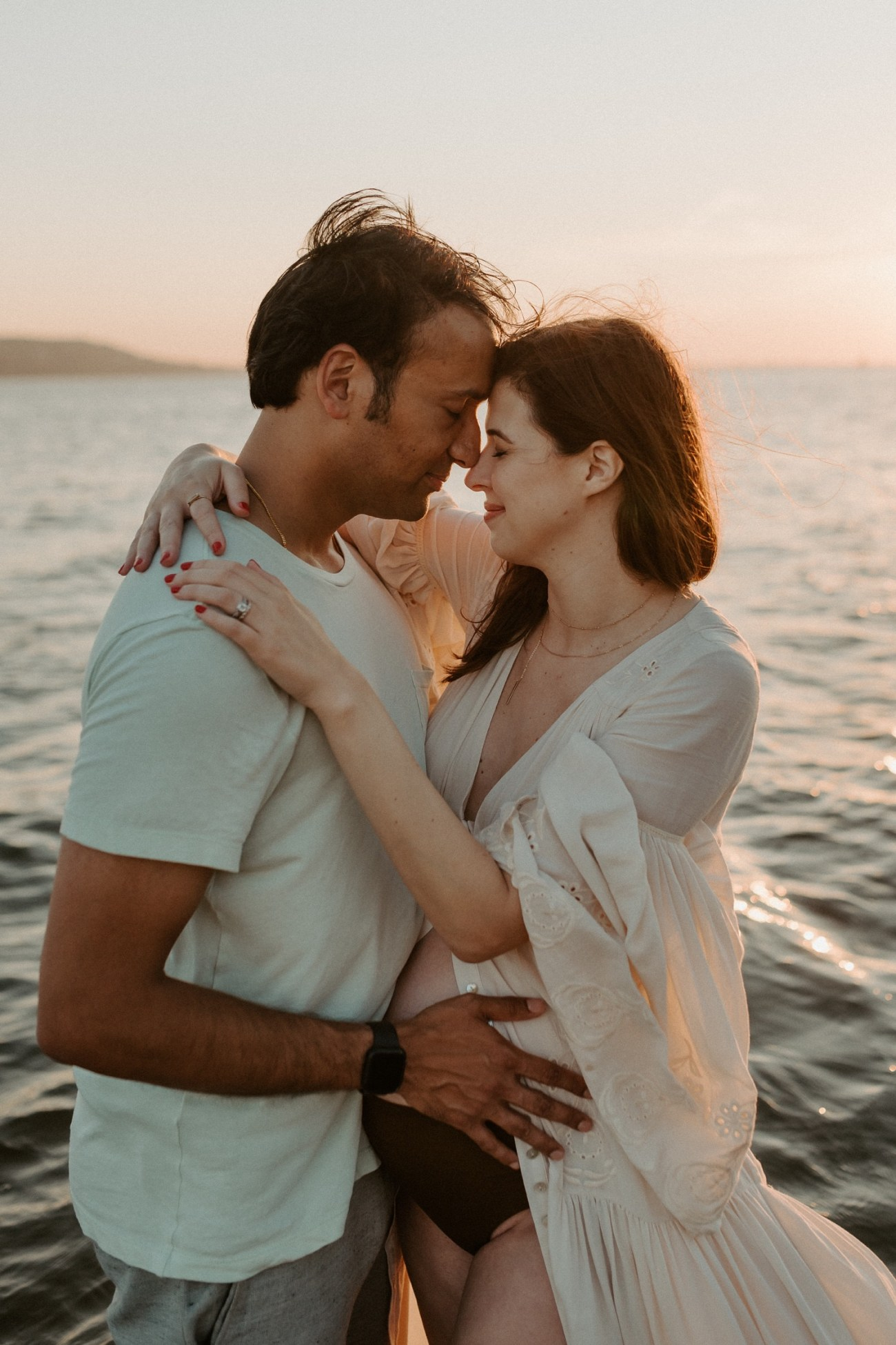 Sandy Hook Maternity Session Oregon Coast Couple Session Oregon Wedding Photographer Bend Wedding Photographer Anais Possamai Photography 024