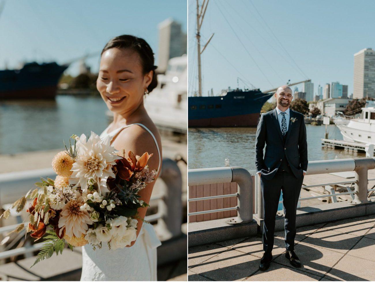 Independence Seaport Museum Philadelphia Wedding Anais Possamai Photography New Jersey Wedding Photographer 019