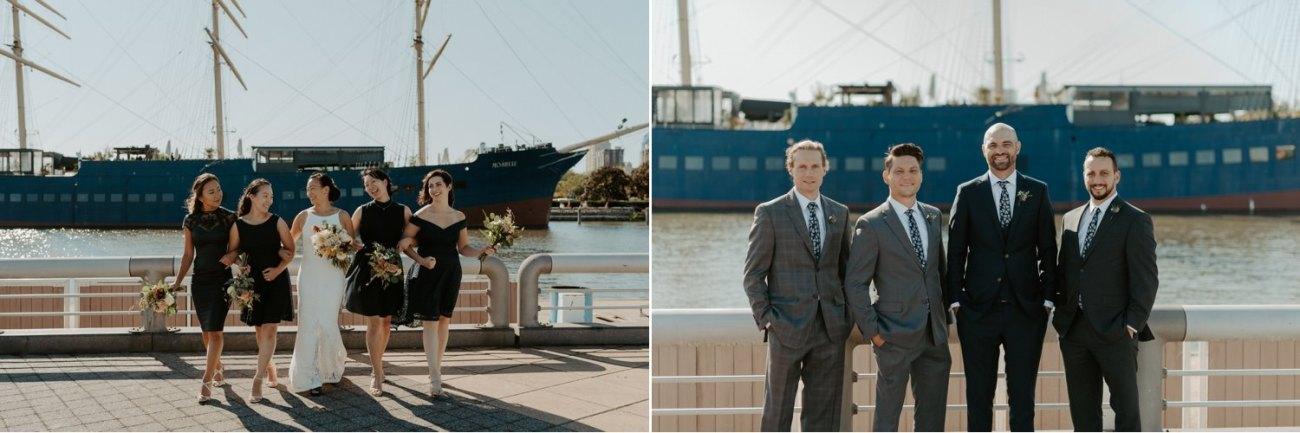 Independence Seaport Museum Philadelphia Wedding Anais Possamai Photography New Jersey Wedding Photographer 022