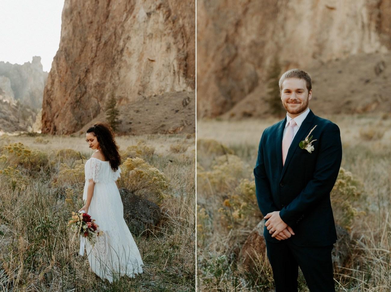 Smith Rock Elopement Bend Elopement Photographer Bend Wedding Photographer Fall Bend Wedding Anais Possamai Photography 009