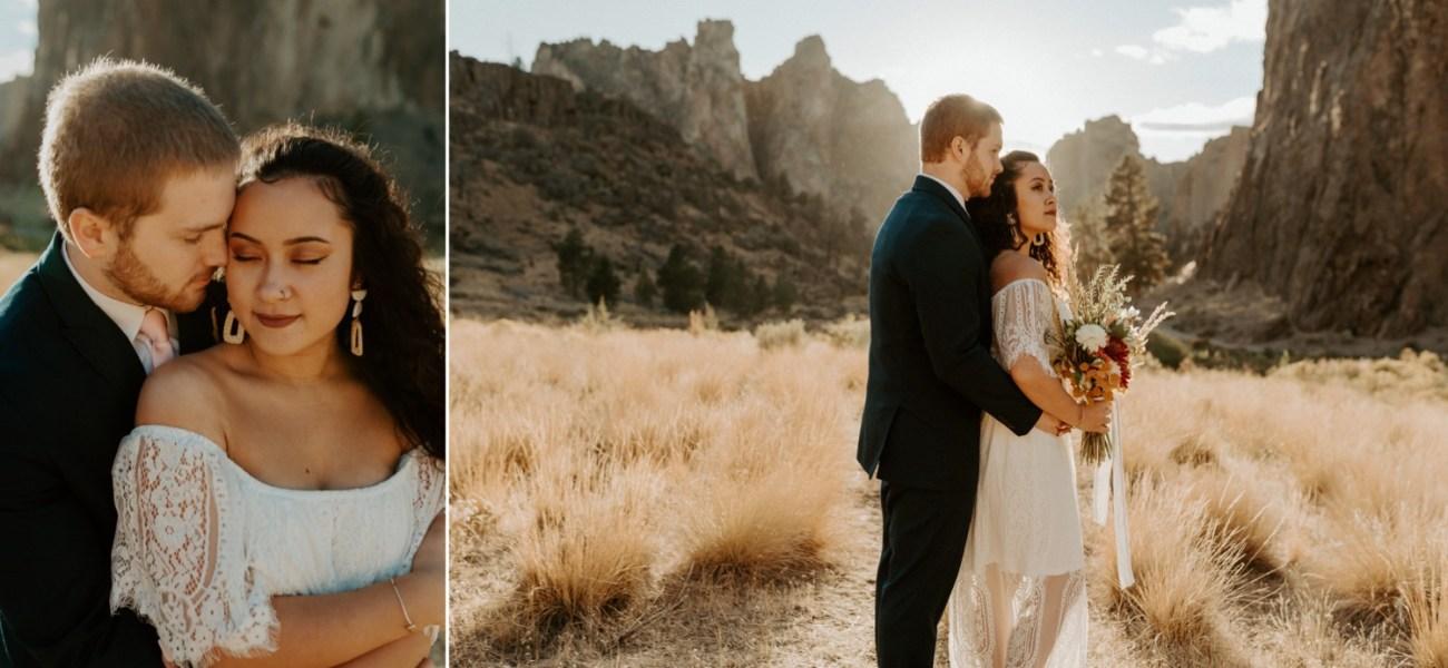 Smith Rock Elopement Bend Elopement Photographer Bend Wedding Photographer Fall Bend Wedding Anais Possamai Photography 030