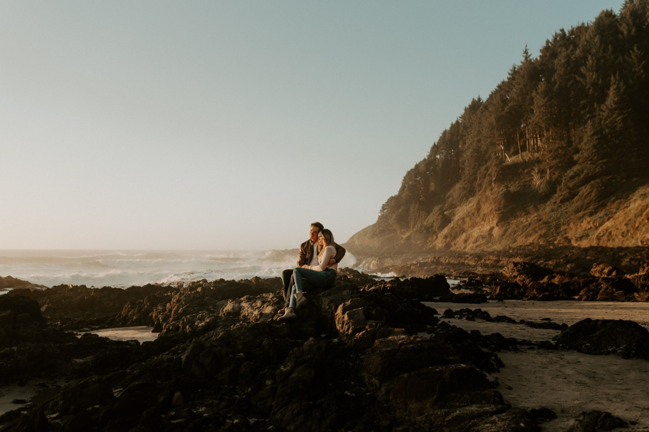 Yachats Oregon Coast Cape Perpetua Engagement Session Bend Wedding Photographer Anais Possamai Photography 029