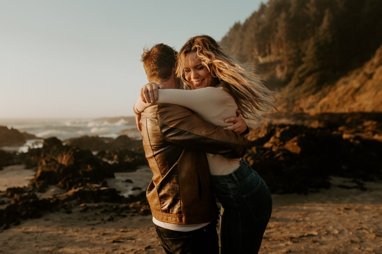 Yachats Oregon Coast Cape Perpetua Engagement Session Bend Wedding Photographer Anais Possamai Photography 031