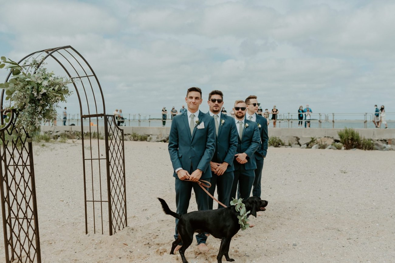Long Beach Island Wedding Barnegat Lighthouse Wedding Ceremony New Jersey Wedding Anais Possamai Photography Oregon Wedding Photographer 0026