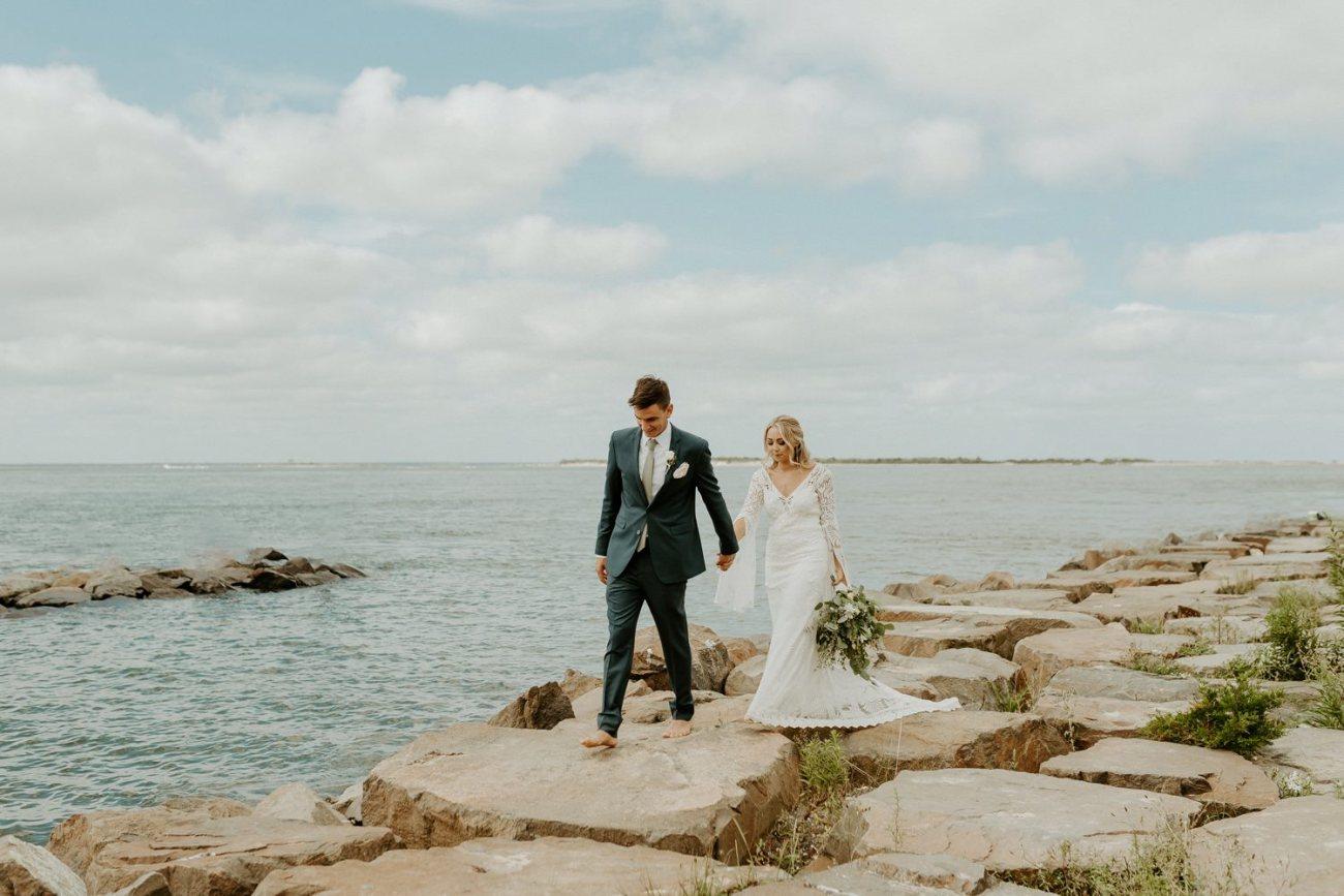 Long Beach Island Wedding Barnegat Lighthouse Wedding Ceremony New Jersey Wedding Anais Possamai Photography Oregon Wedding Photographer 0043