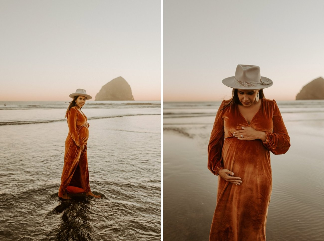 Cape Kiwanda Maternity Session Pacific City Oregon Coast Maternity Session Bend Wedding Photographer Anais Possamai Photography 043