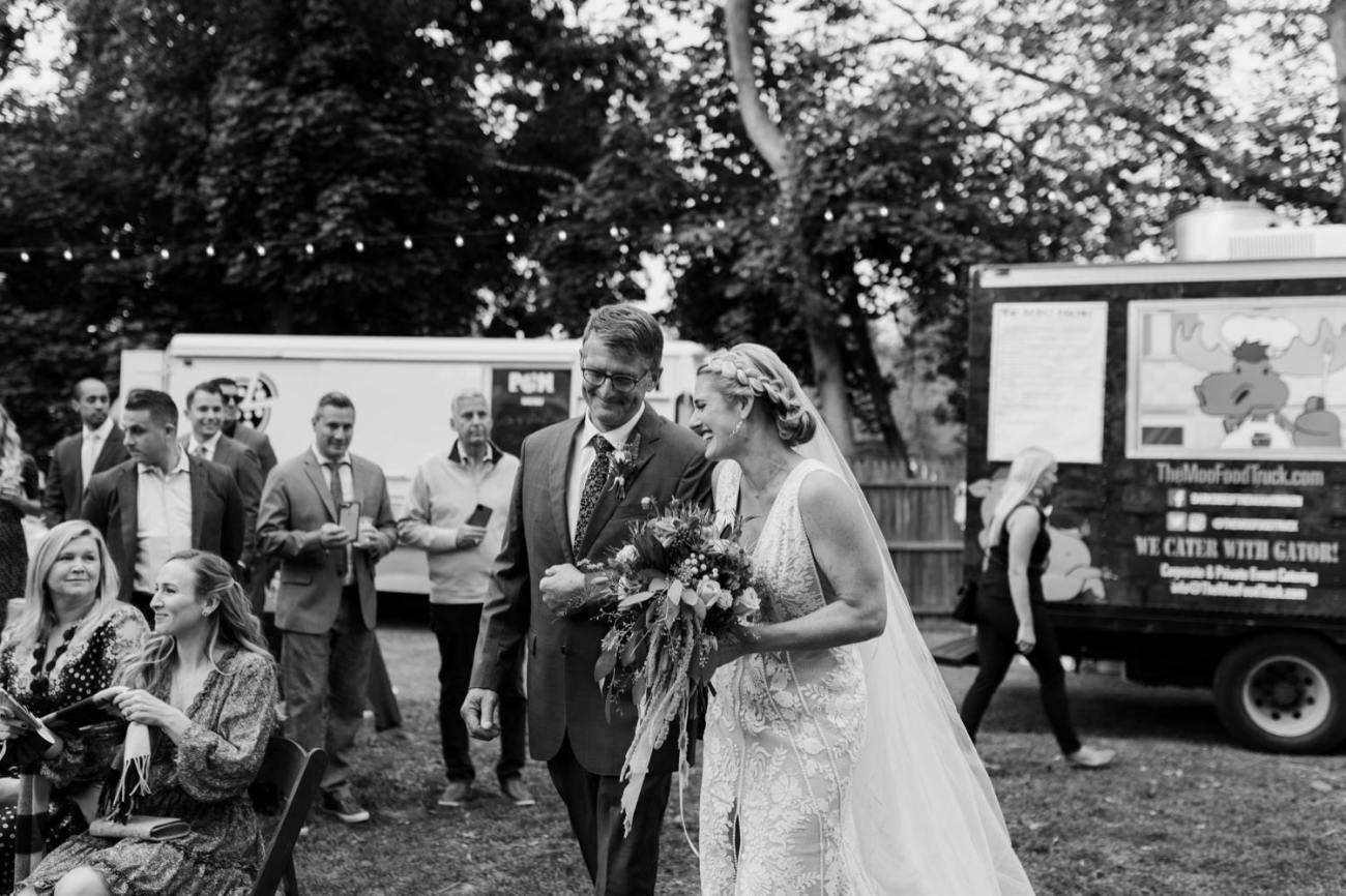 New Jersey Fall Backyard Wedding Bend Wedding Photographer NJ Wedding Photographer Anais Possamai Photography 040