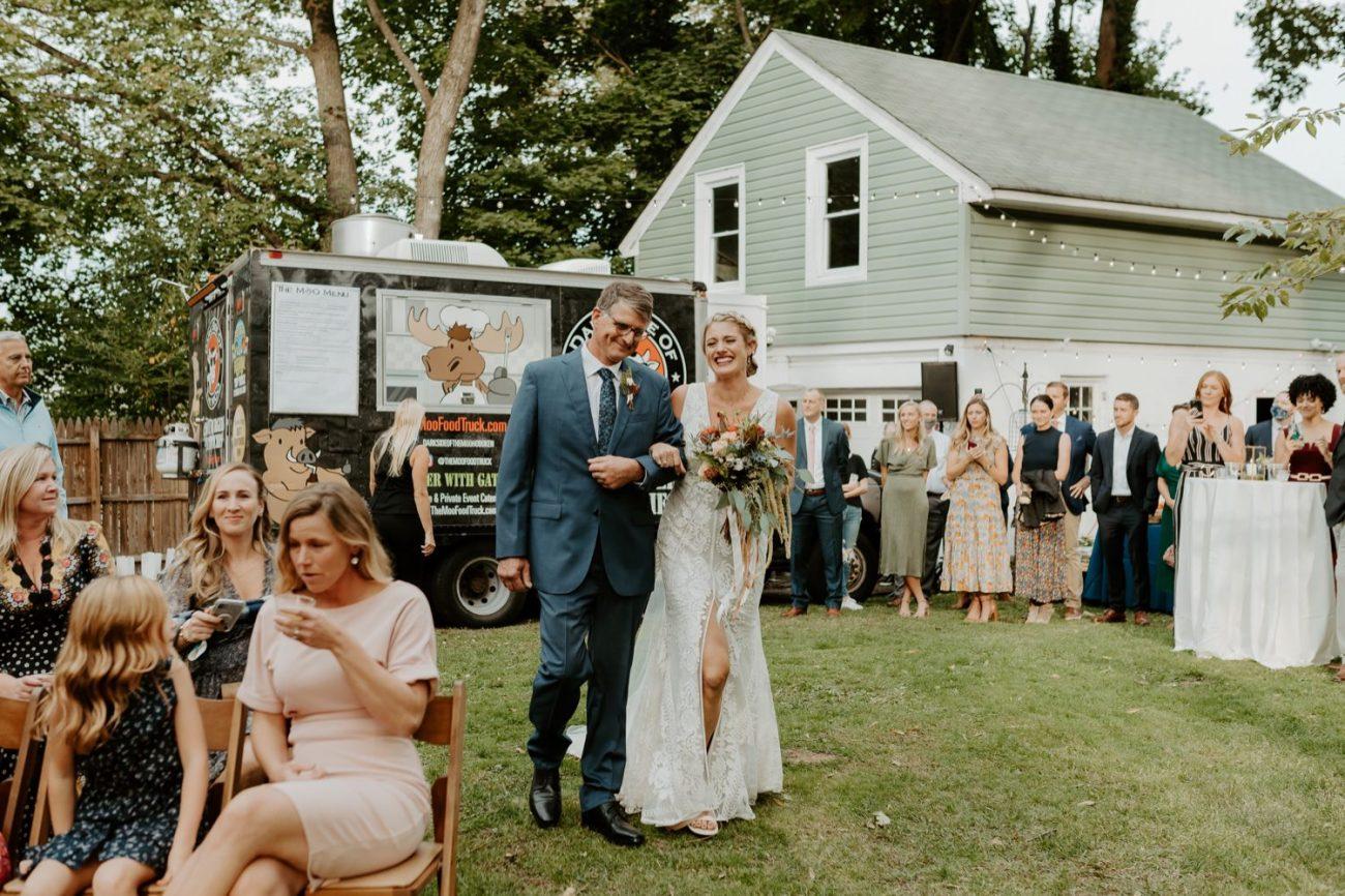 New Jersey Fall Backyard Wedding Bend Wedding Photographer NJ Wedding Photographer Anais Possamai Photography 041