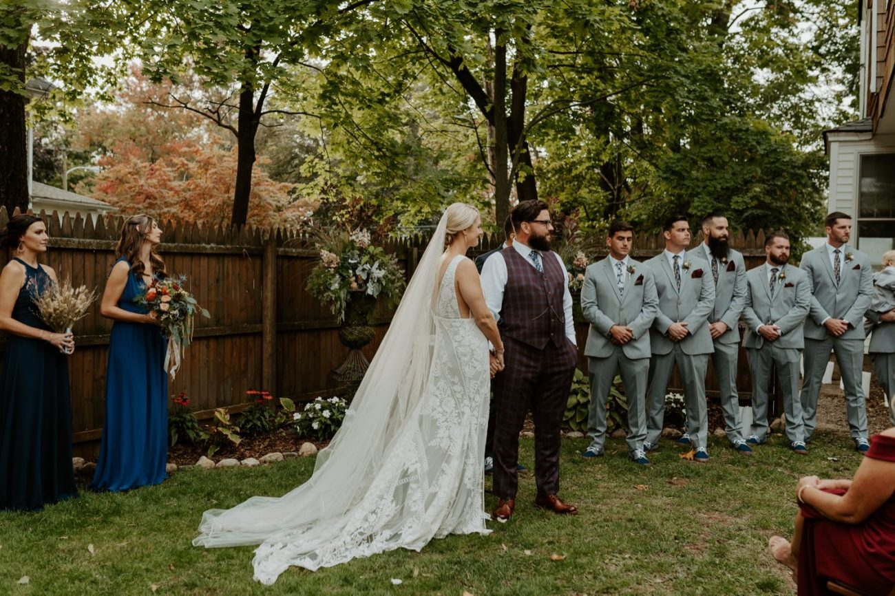 New Jersey Fall Backyard Wedding Bend Wedding Photographer NJ Wedding Photographer Anais Possamai Photography 043