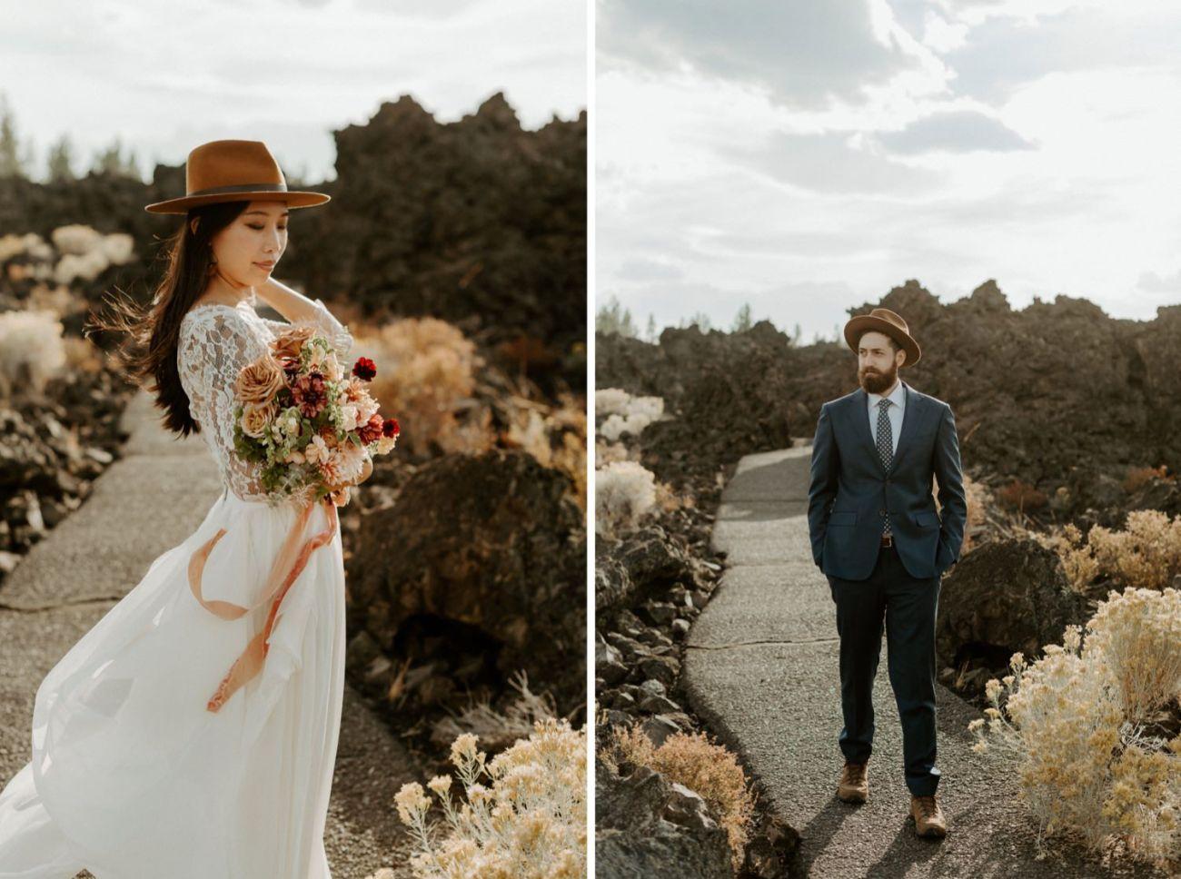 Newberry Volcano Elopement Bend Elopement Bridal Session Bend Wedding Photographer Anais Possamai Photography 011