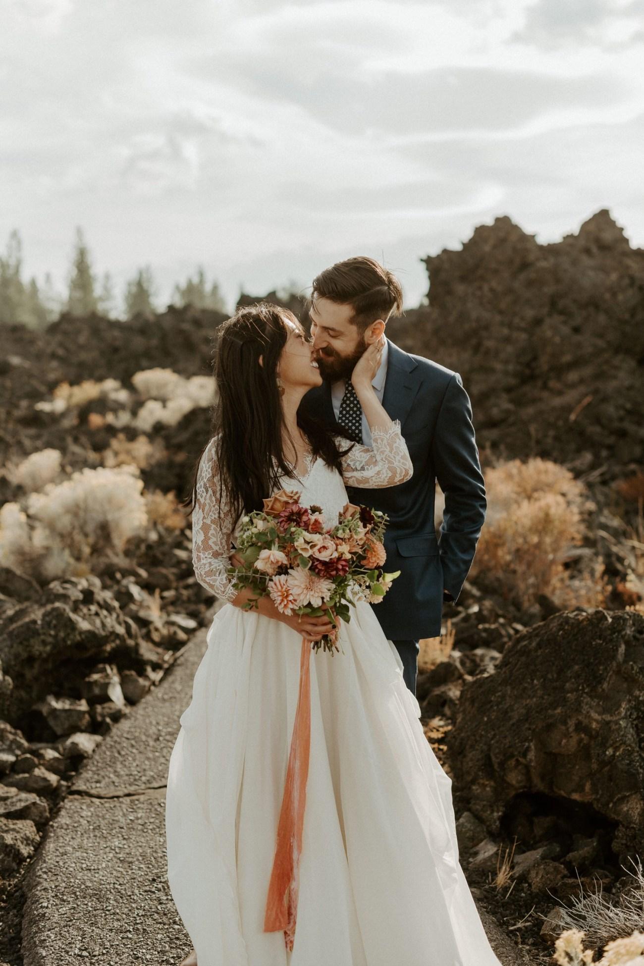 Newberry Volcano Elopement Bend Elopement Bridal Session Bend Wedding Photographer Anais Possamai Photography 013