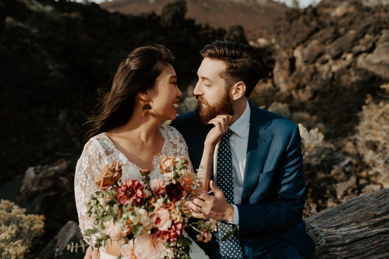Newberry Volcano Elopement Bend Elopement Bridal Session Bend Wedding Photographer Anais Possamai Photography 017