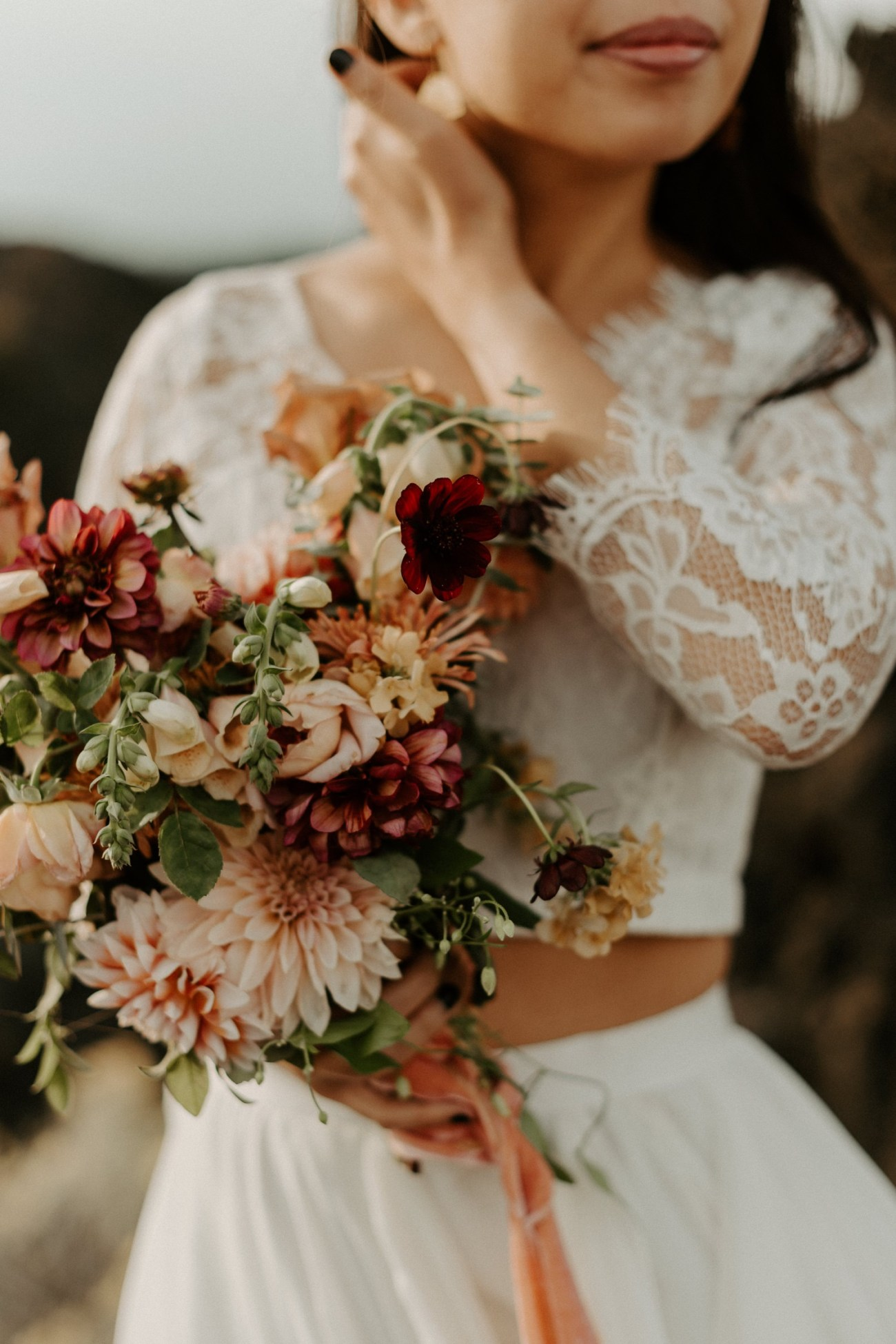 Newberry Volcano Elopement Bend Elopement Bridal Session Bend Wedding Photographer Anais Possamai Photography 029