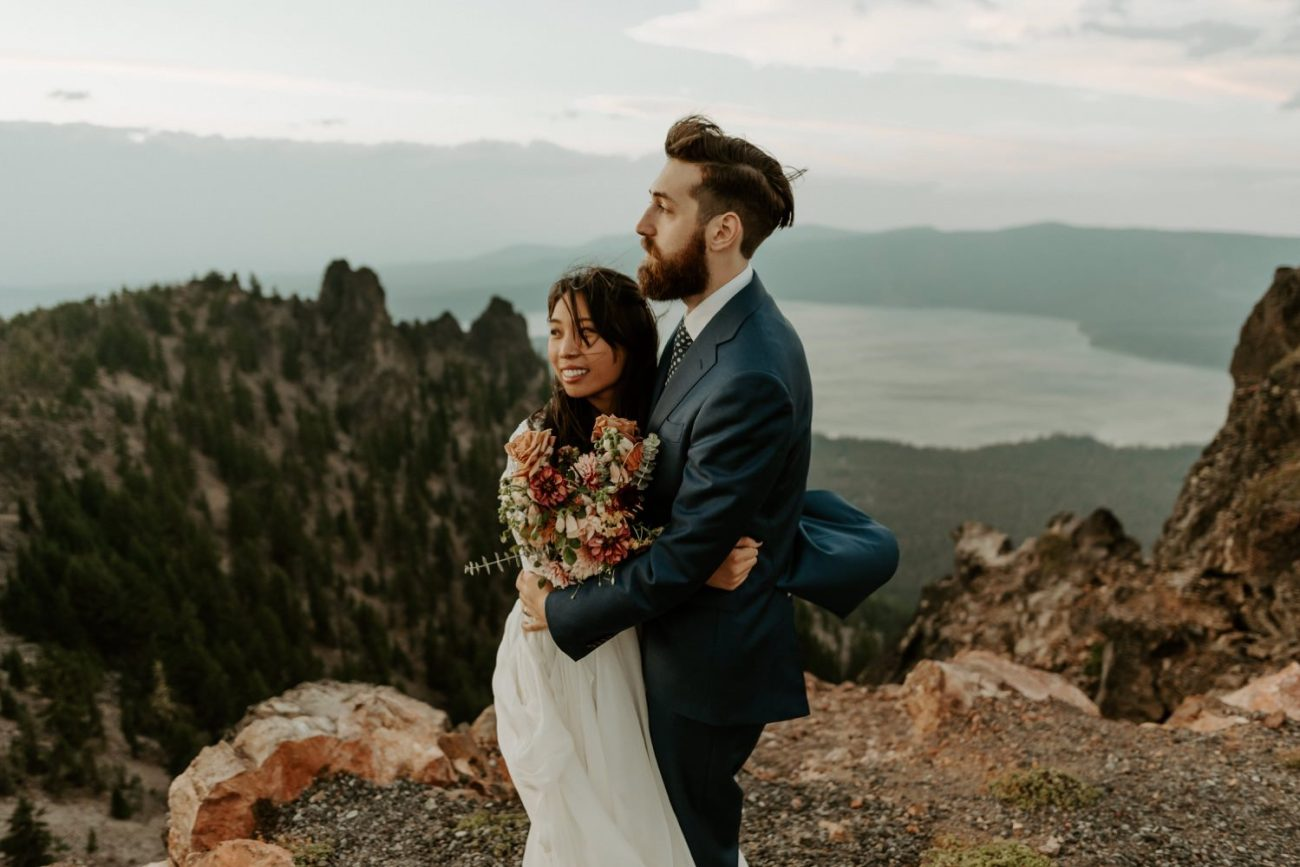 Newberry Volcano Elopement Bend Elopement Bridal Session Bend Wedding Photographer Anais Possamai Photography 040