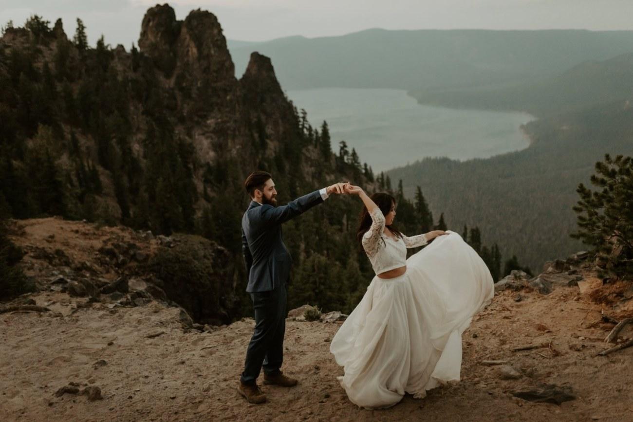 Newberry Volcano Elopement Bend Elopement Bridal Session Bend Wedding Photographer Anais Possamai Photography 045