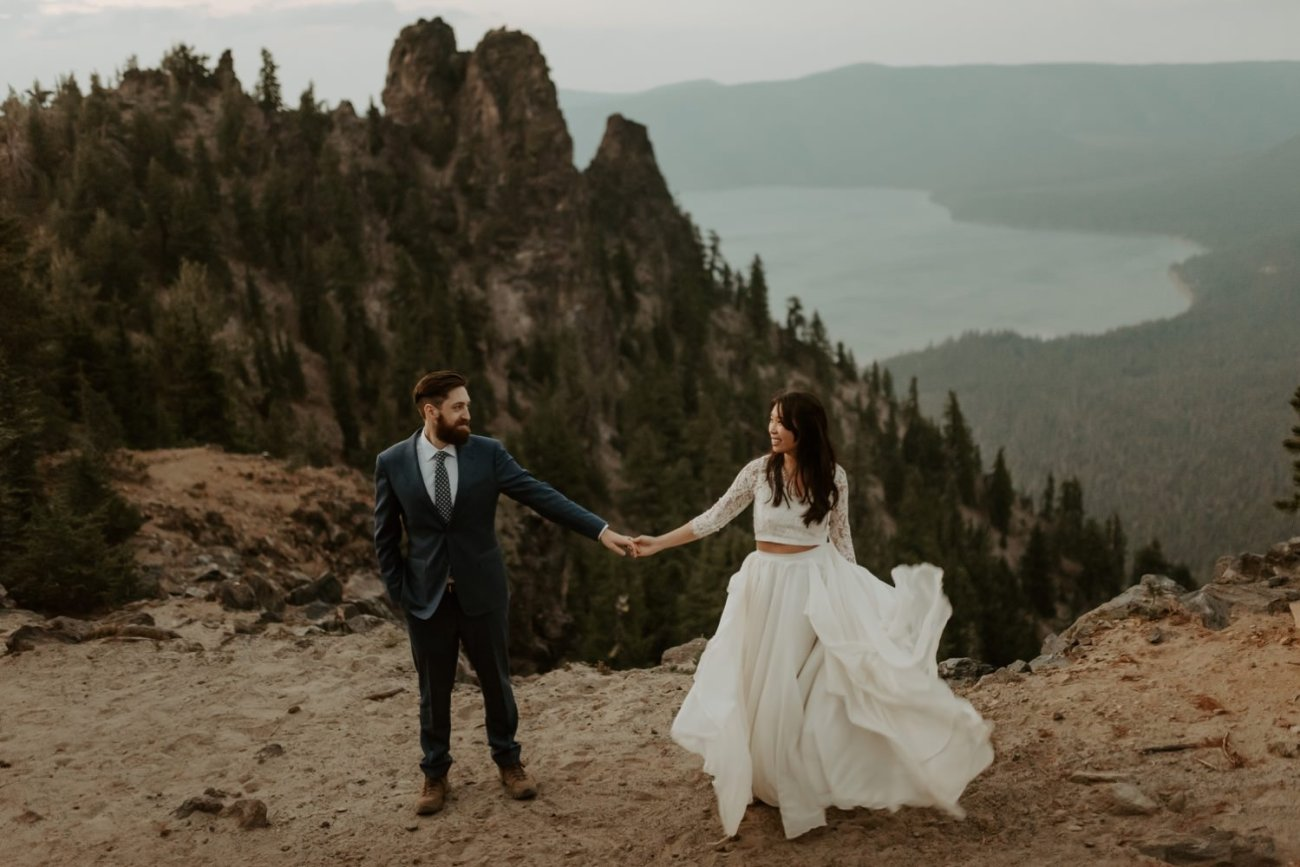 Newberry Volcano Elopement Bend Elopement Bridal Session Bend Wedding Photographer Anais Possamai Photography 046