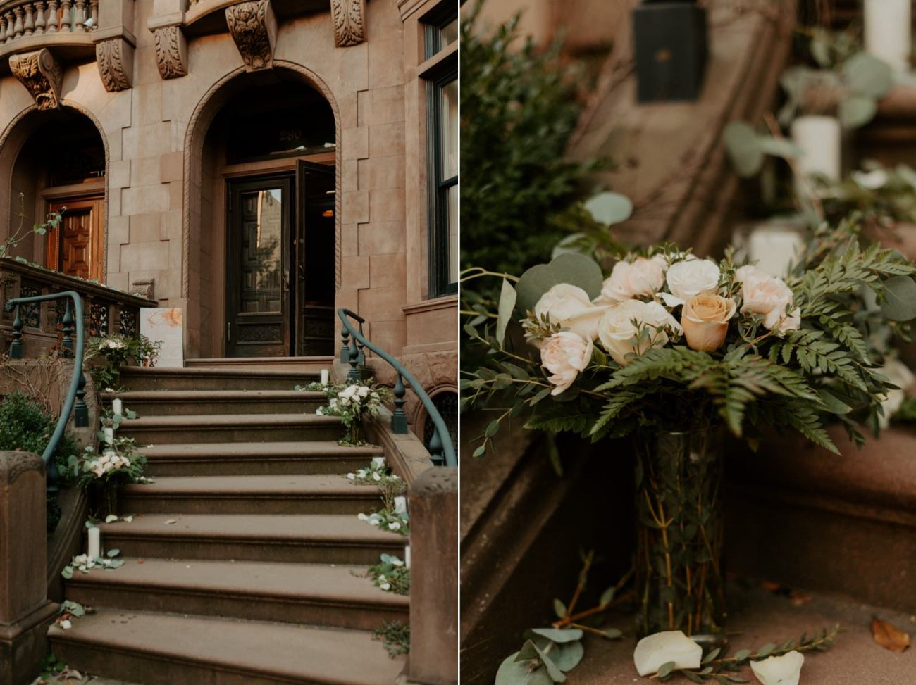 Brooklyn Backyard Wedding In Brownstone House New York City Wedding Photographer Anais Possamai Photography 02