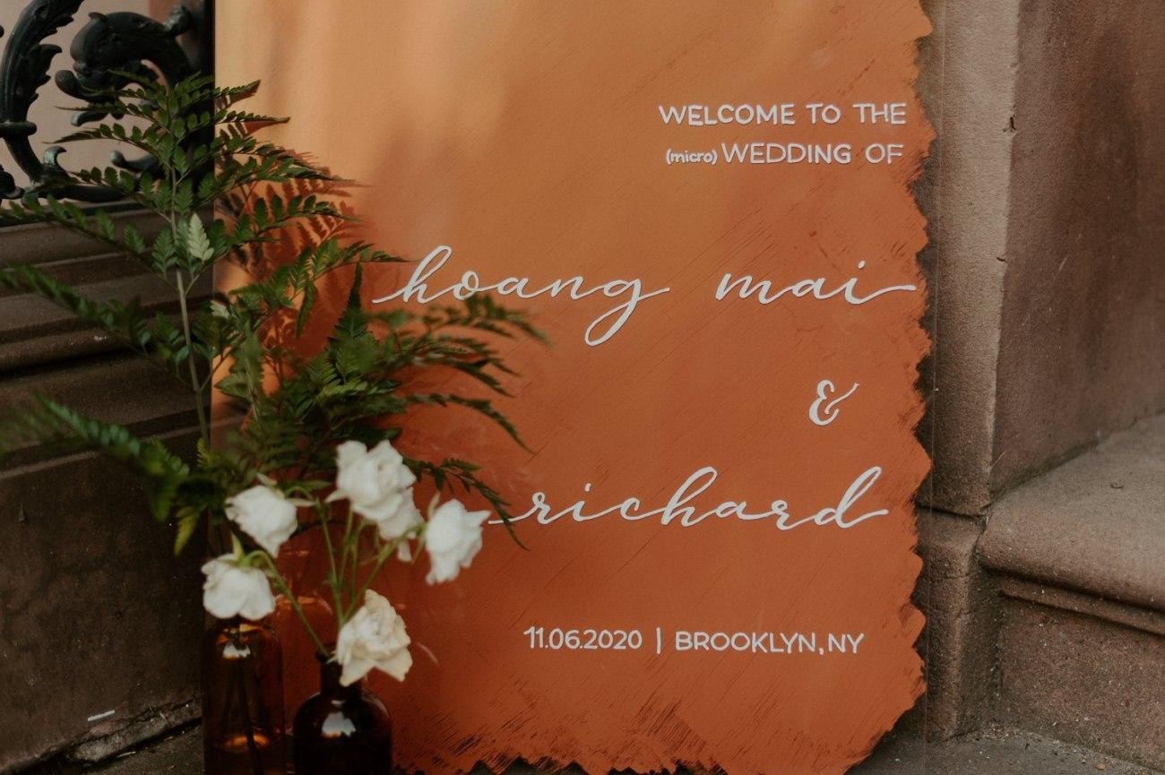 Brooklyn Backyard Wedding In Brownstone House New York City Wedding Photographer Anais Possamai Photography 03