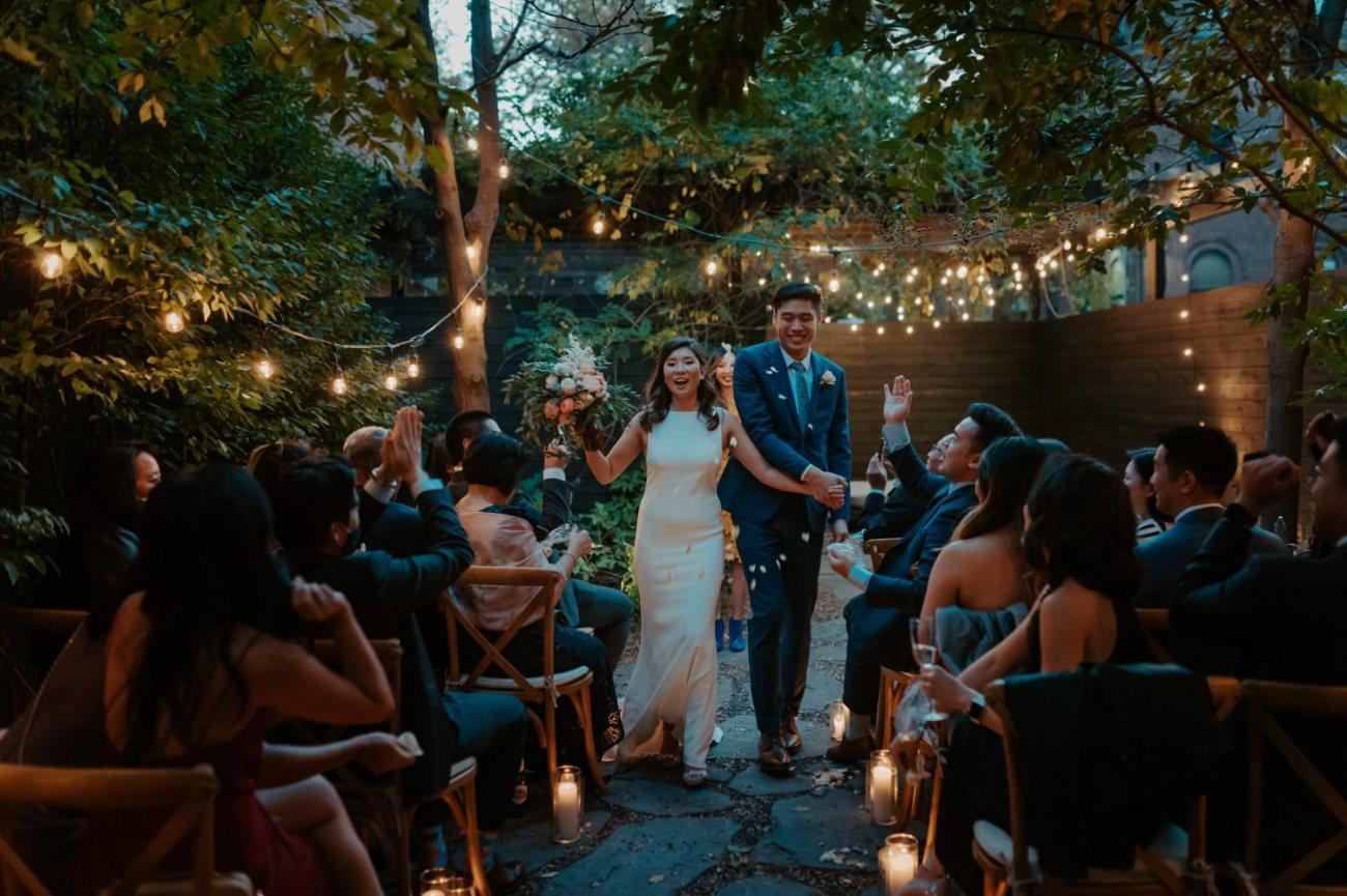 Brooklyn Backyard Wedding In Brownstone House New York City Wedding Photographer Anais Possamai Photography 18