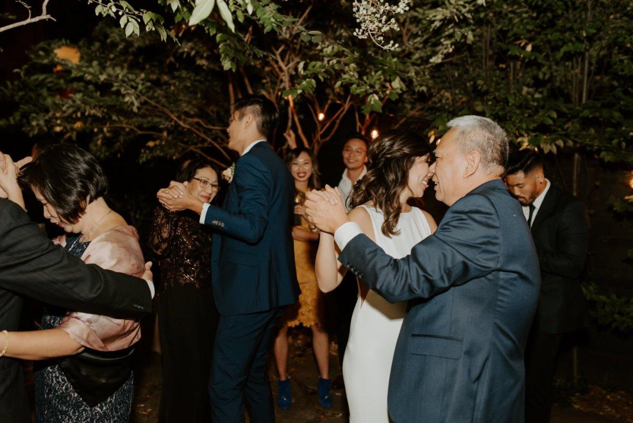 Brooklyn Backyard Wedding In Brownstone House New York City Wedding Photographer Anais Possamai Photography 46