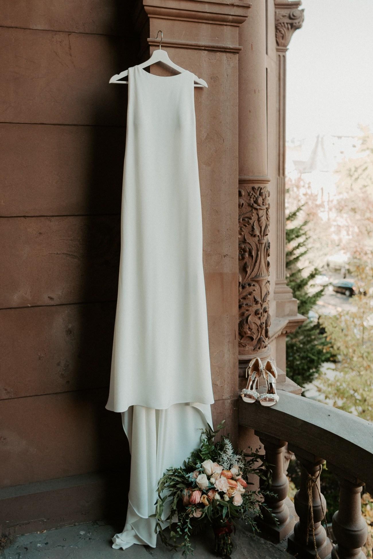 Brooklyn Brownstone House Backyard Wedding New York Wedding Photographer Anais Possamai Photography 03