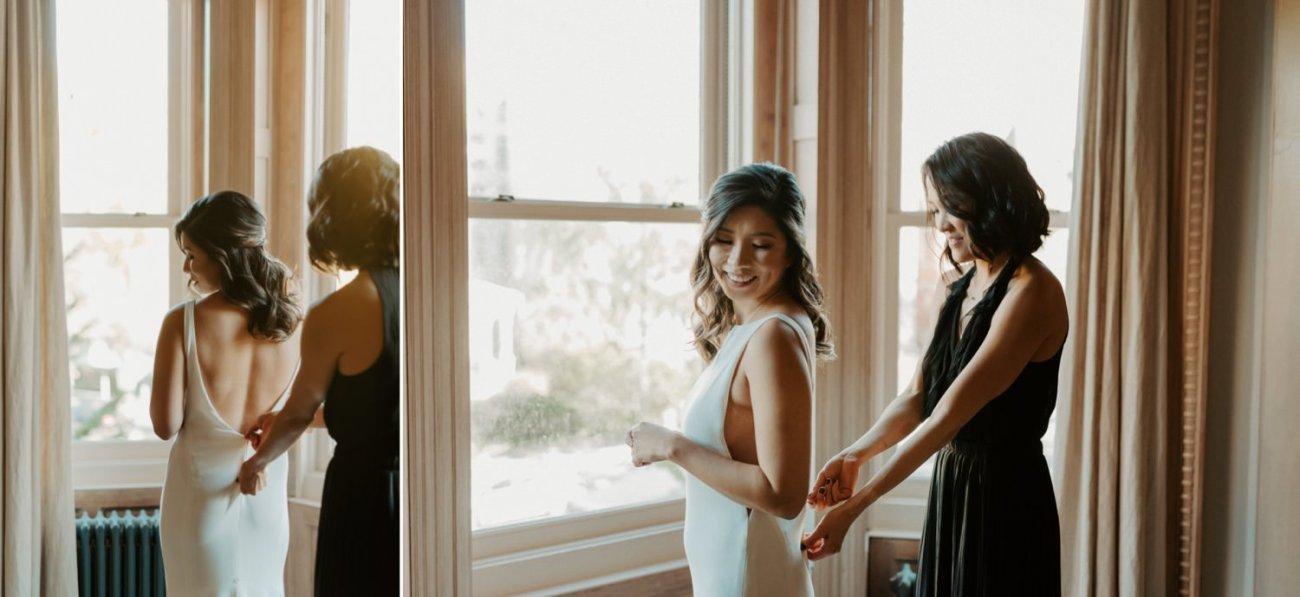 Brooklyn Brownstone House Backyard Wedding New York Wedding Photographer Anais Possamai Photography 05