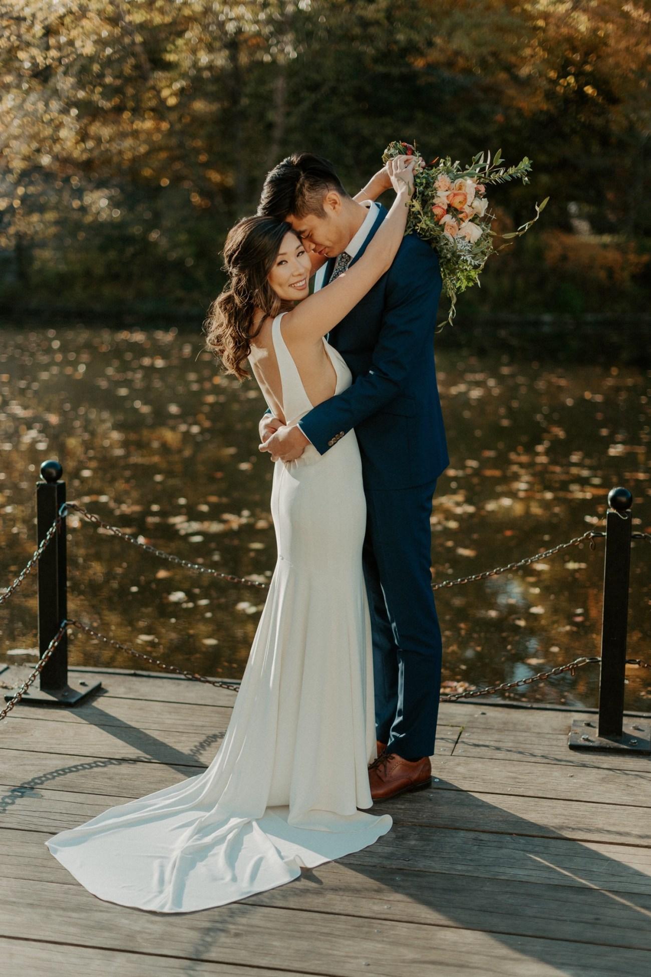 Prospect Park Brooklyn Wedding Fall Wedding In NYC New York Wedding Photographer Anais Possamai Photography 02
