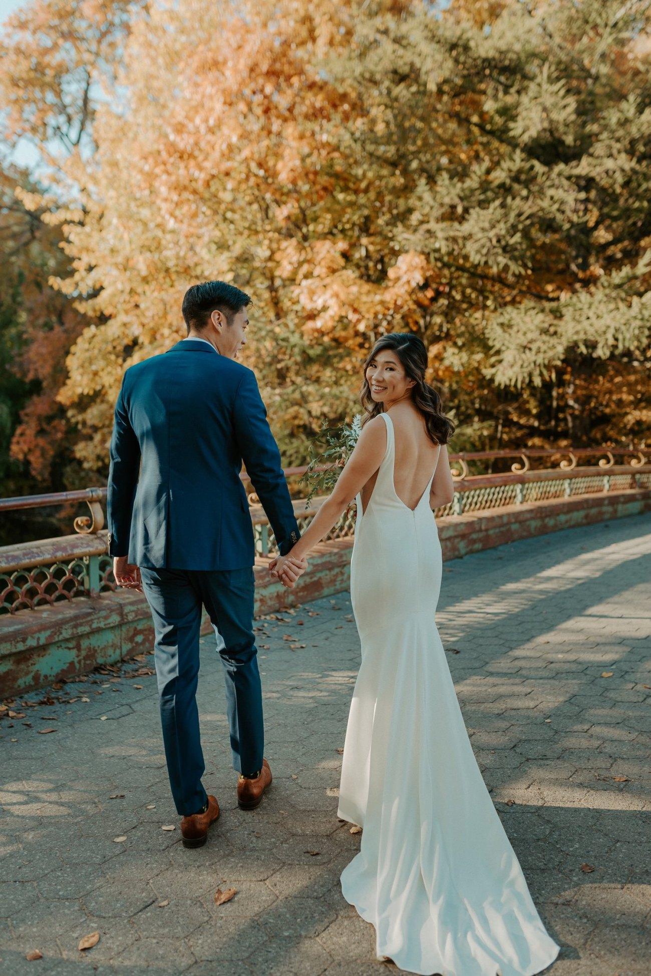 Prospect Park Brooklyn Wedding Fall Wedding In NYC New York Wedding Photographer Anais Possamai Photography 06