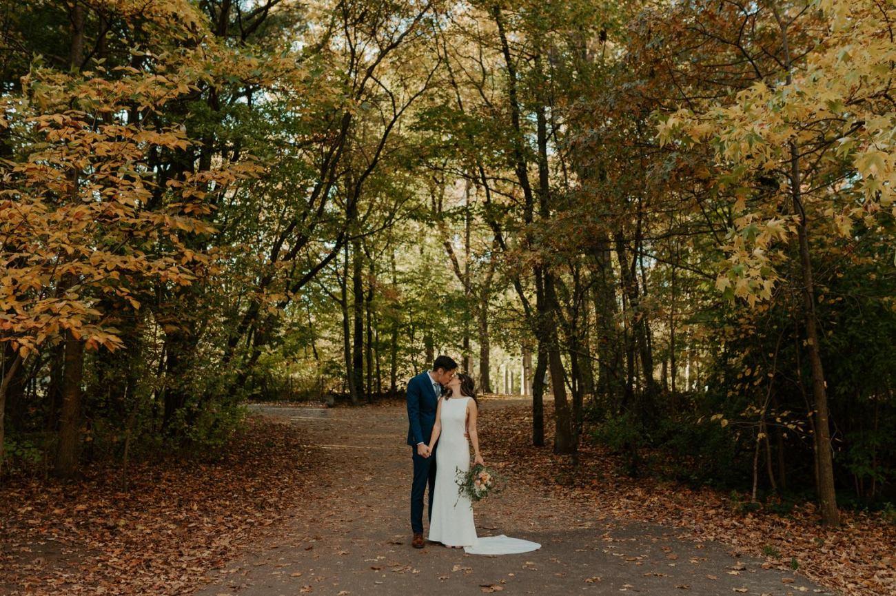 Prospect Park Brooklyn Wedding Fall Wedding In NYC New York Wedding Photographer Anais Possamai Photography 20
