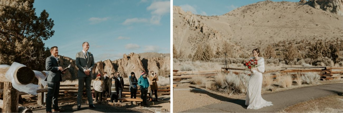 Intimate Wedding In Smith Rock State Park Bend Oregon Wedding Photographer Anais Possamai Photography 009