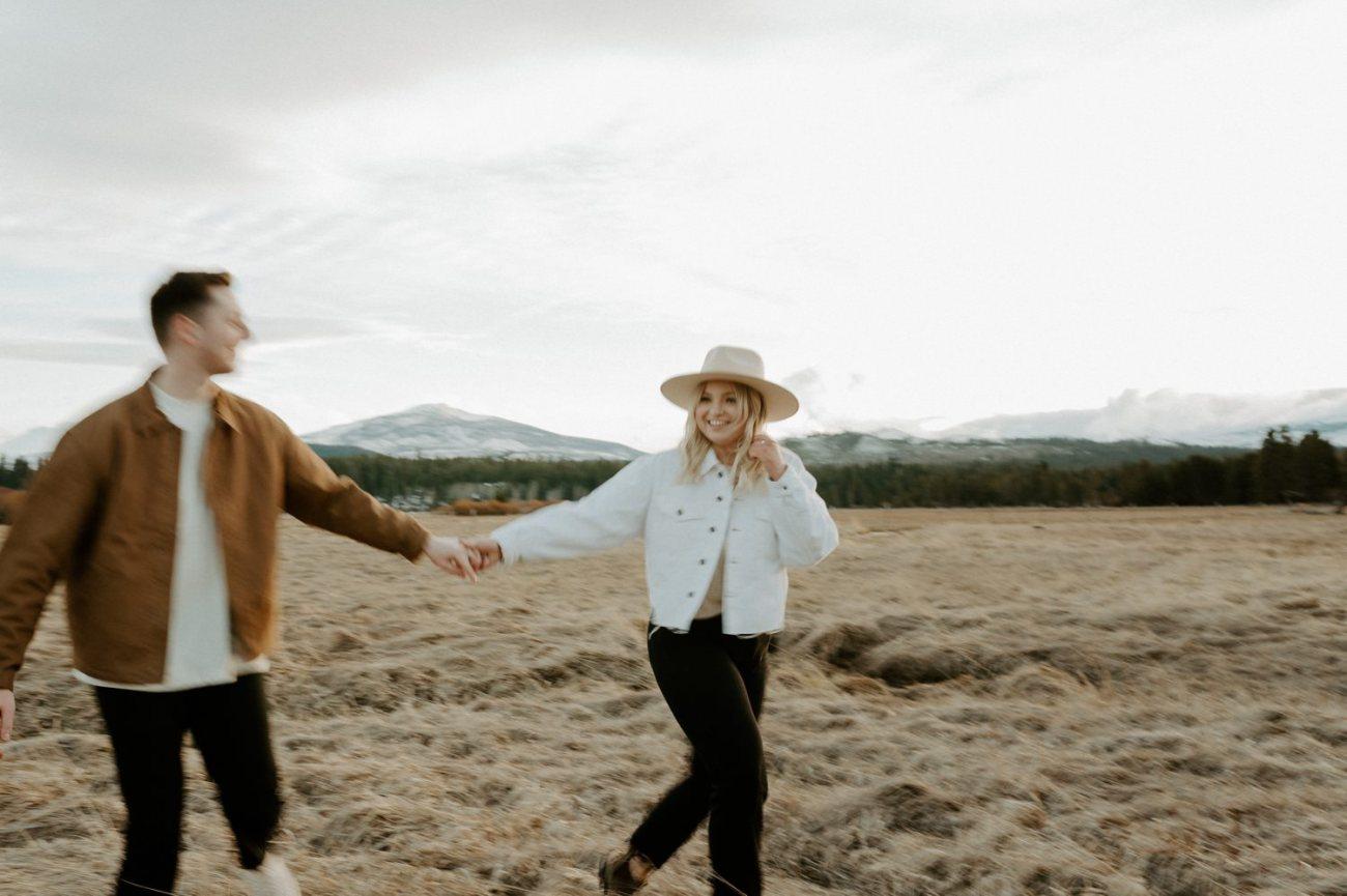 Black Butte Ranch Sisters Oregon Engagement Session Bend Wedding Photographer Anais Possamai Photography 007