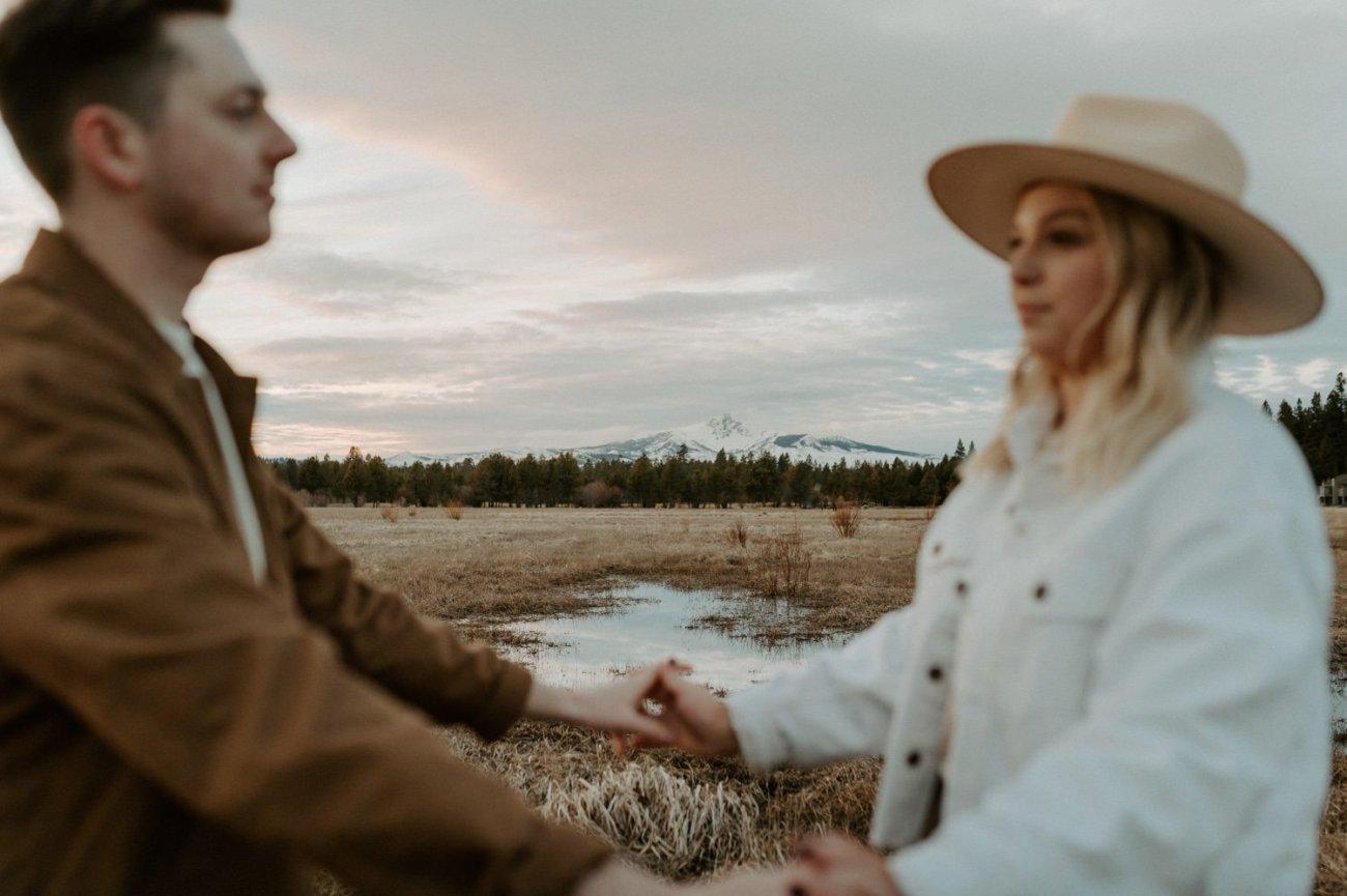 Black Butte Ranch Sisters Oregon Engagement Session Bend Wedding Photographer Anais Possamai Photography 016