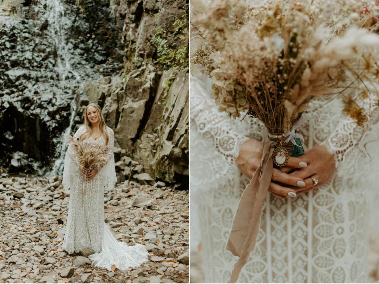 New Jersey Backyard Wedding Vintage Boho Wedding Hemlock Falls NJ Bend Oregon Wedding Phtographer Anais Possamai Photography 017