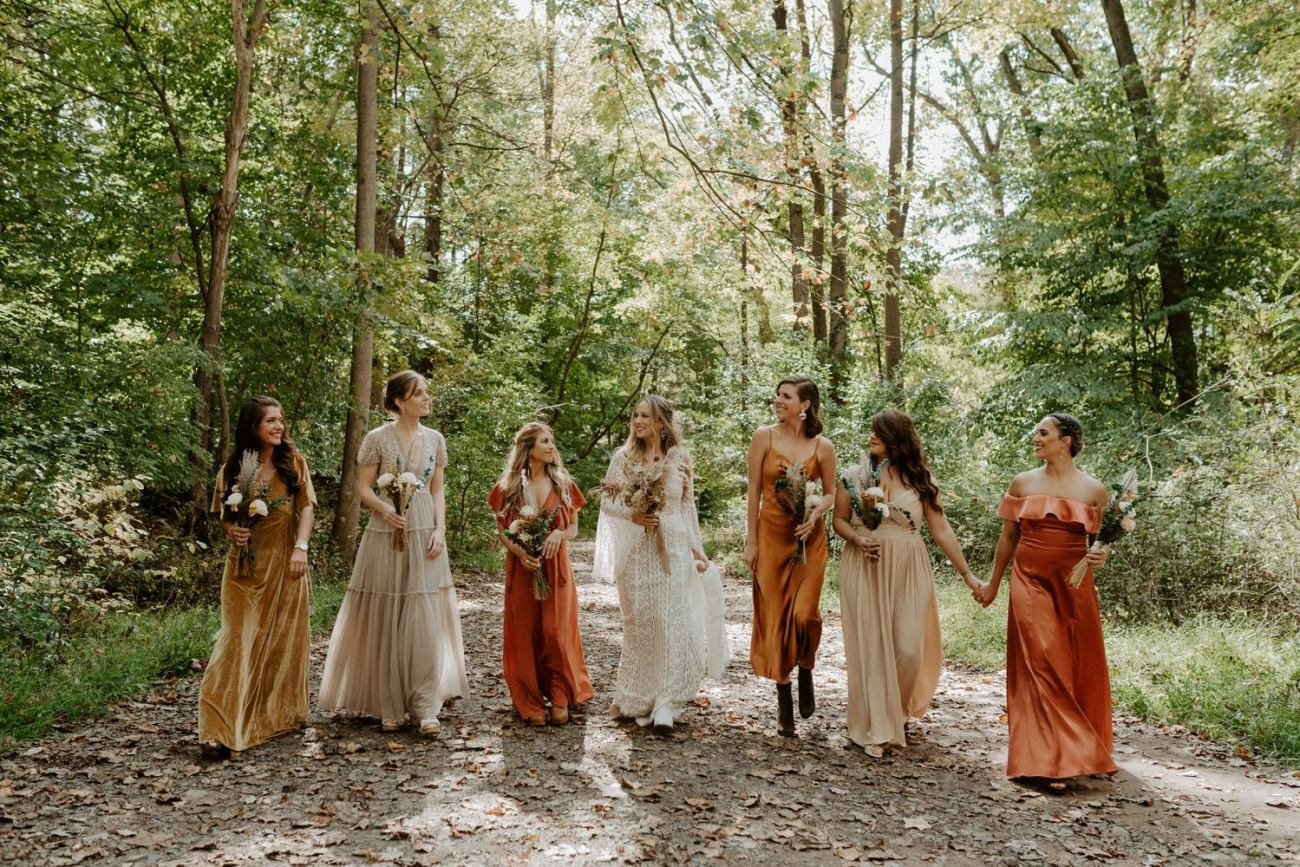 New Jersey Backyard Wedding Vintage Boho Wedding Hemlock Falls NJ Bend Oregon Wedding Phtographer Anais Possamai Photography 042