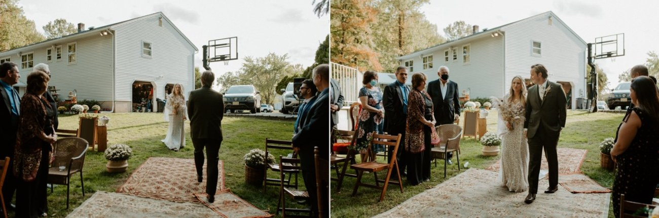 Vintage Boho Diy Backyard Wedding In New Jersey Anais Possamai Photography 066