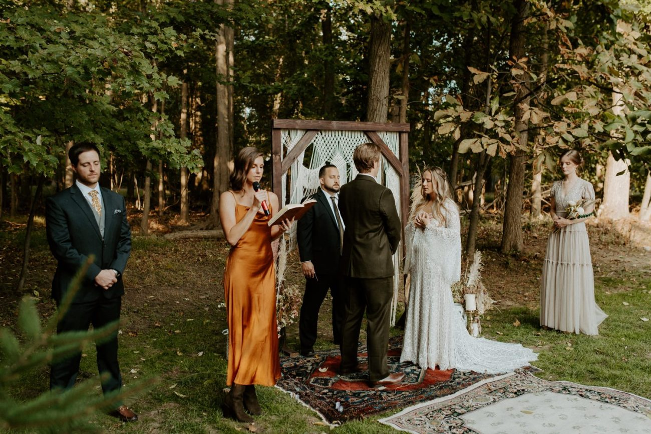 Vintage Boho Diy Backyard Wedding In New Jersey Anais Possamai Photography 068