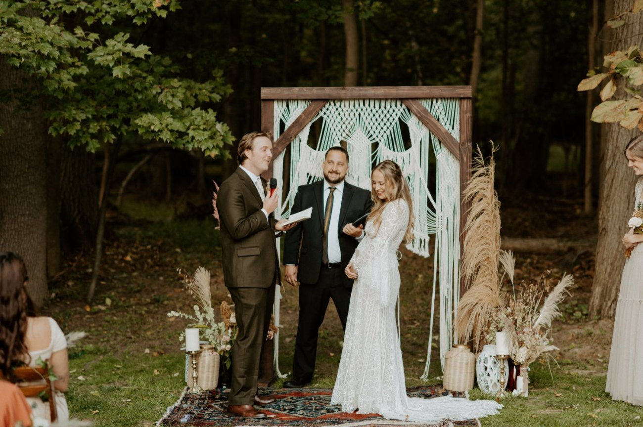 Vintage Boho Diy Backyard Wedding In New Jersey Anais Possamai Photography 071