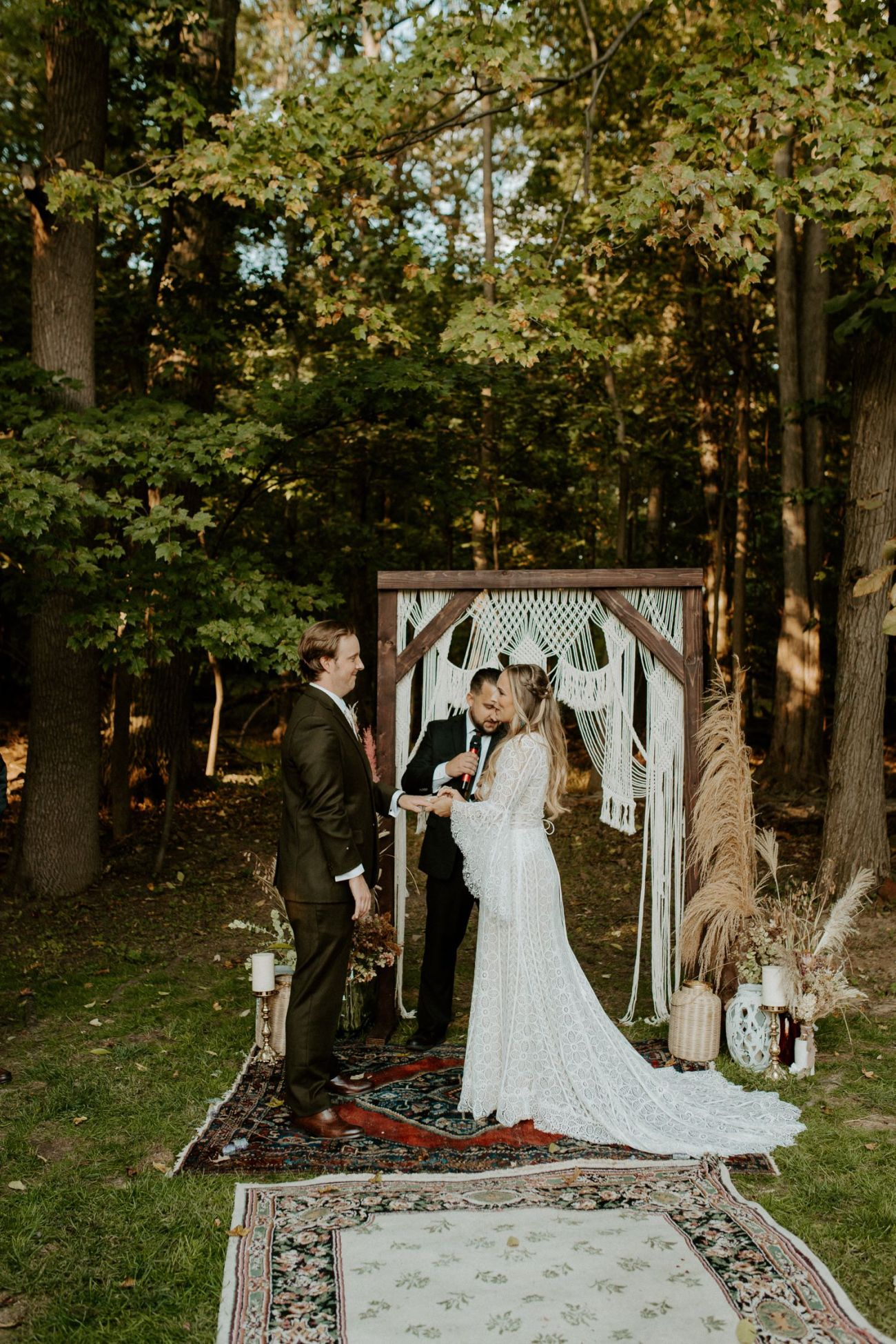 Vintage Boho Diy Backyard Wedding In New Jersey Anais Possamai Photography 075