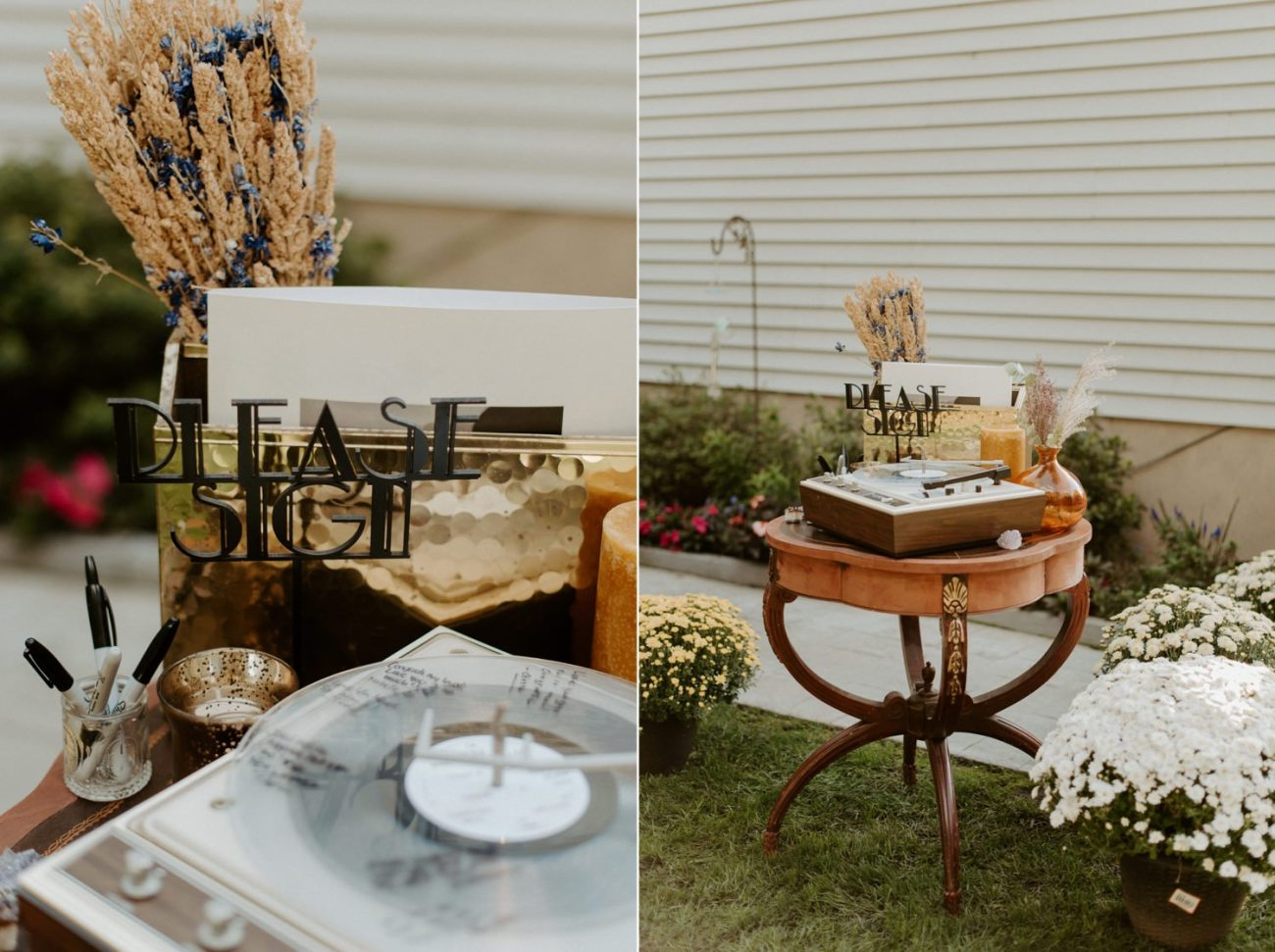 Vintage Boho Diy Backyard Wedding In New Jersey Anais Possamai Photography 082